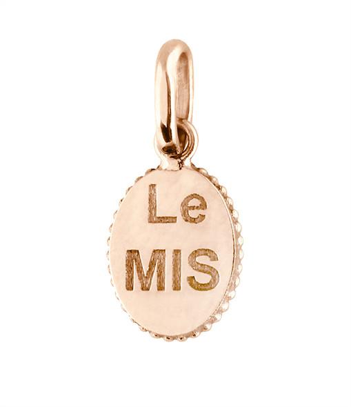 GIGI CLOZEAU - Pendentif Médaille Etoile Espoir Résine