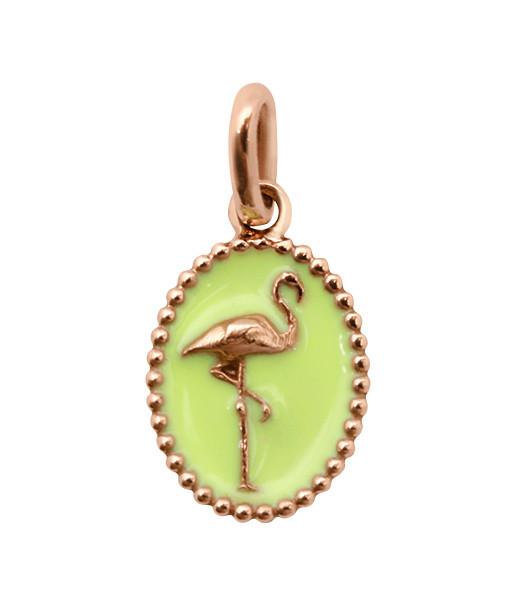Médaille Flamant Résine - GIGI CLOZEAU