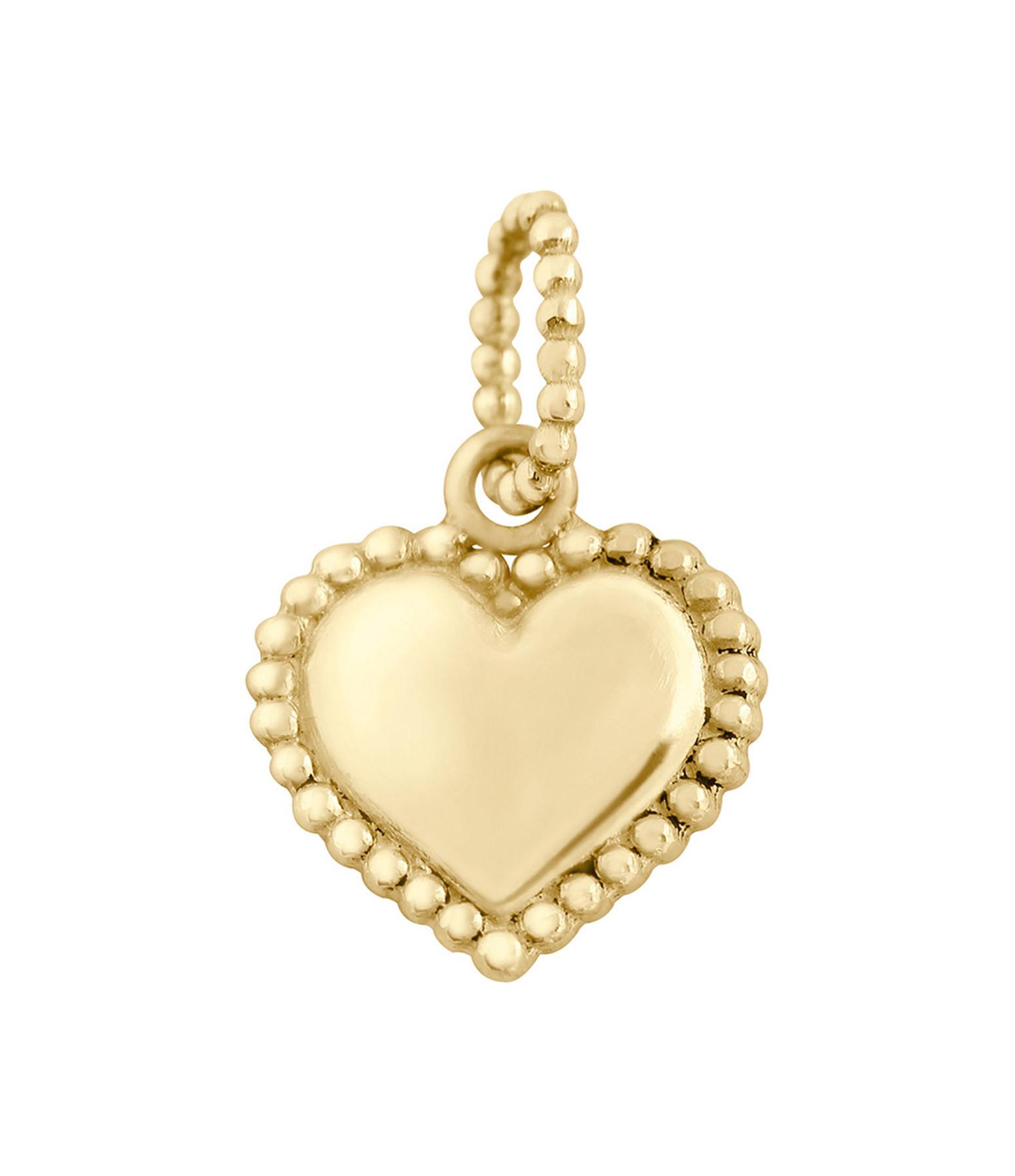 GIGI CLOZEAU - Pendentif Lucky Coeur Or