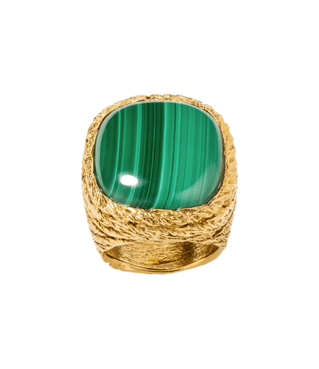 AURELIE BIDERMANN - Chevaliere Miki Dora Malachite