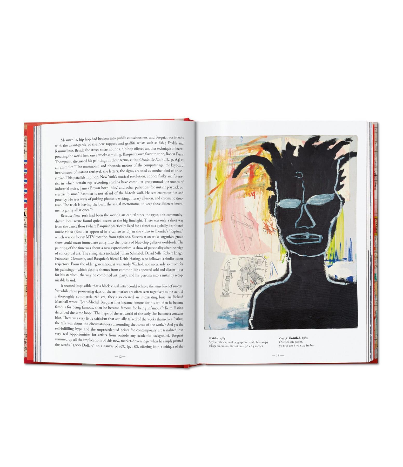 TASCHEN - Livre XL Jean-Michel Basquiat