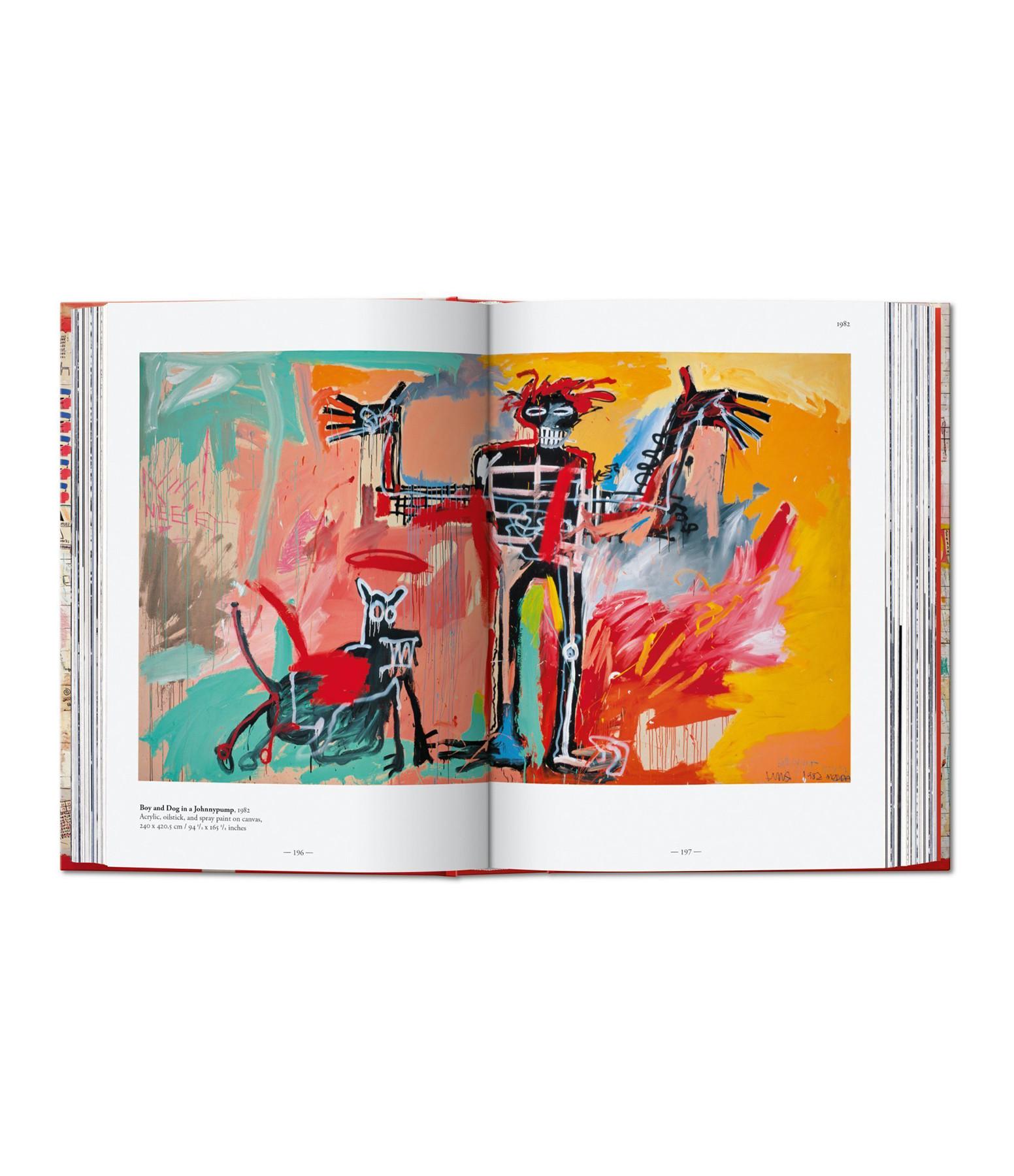 TASCHEN - Livre Basquiat, 40th Anniversary Edition