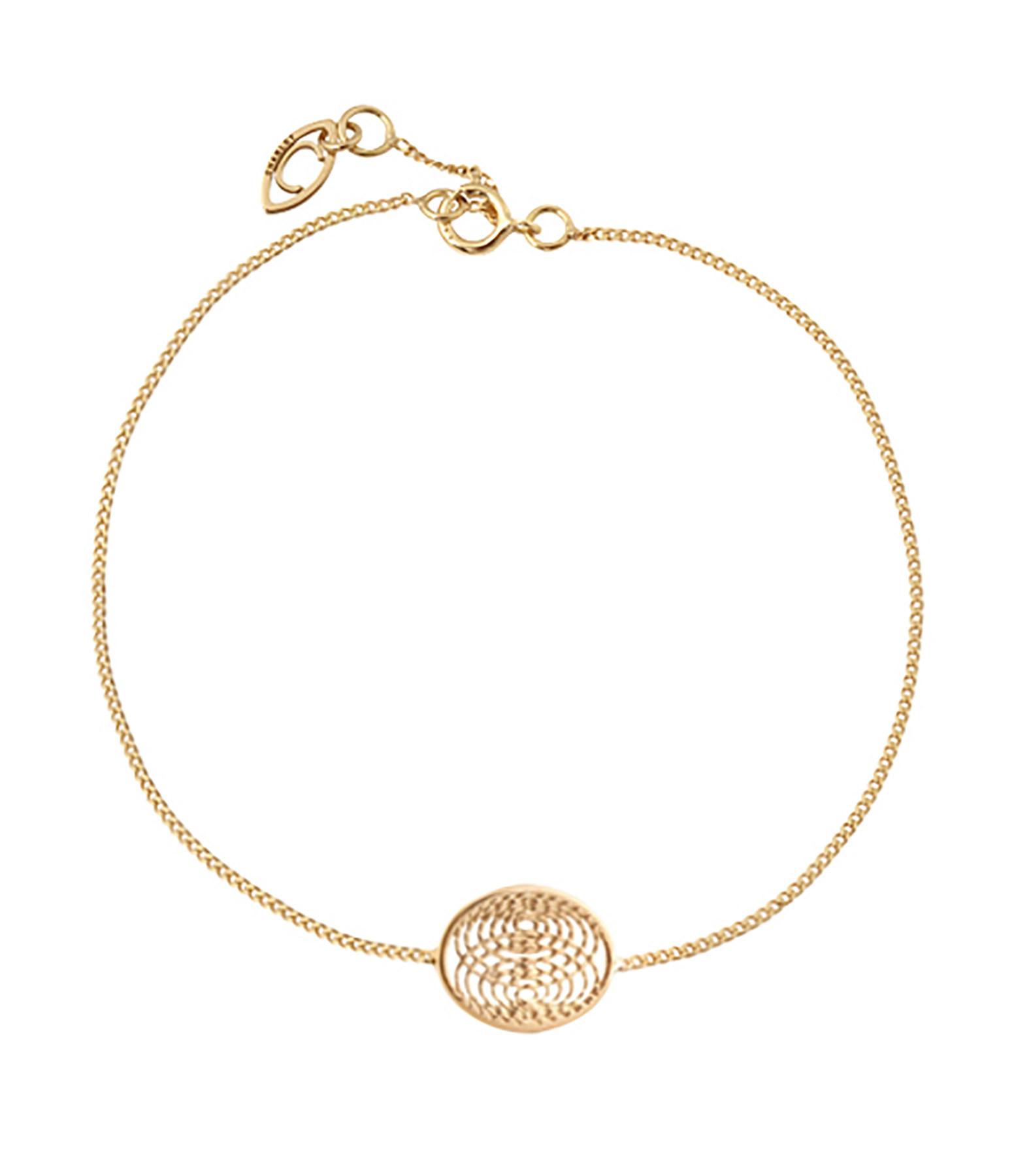 Charlet - Bracelet Petite Médaille Aura