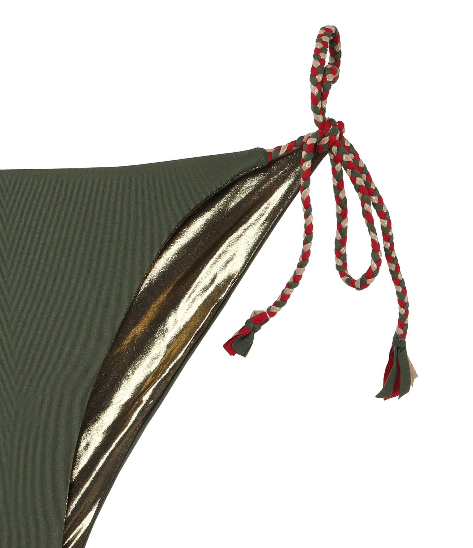 BELIZA - Culotte de Bain Kate Réversible Kaki Tin