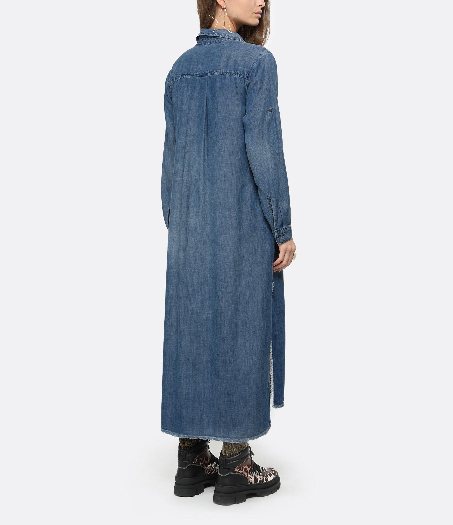 BELLA DAHL - Robe Duster Evening Mist Bleu