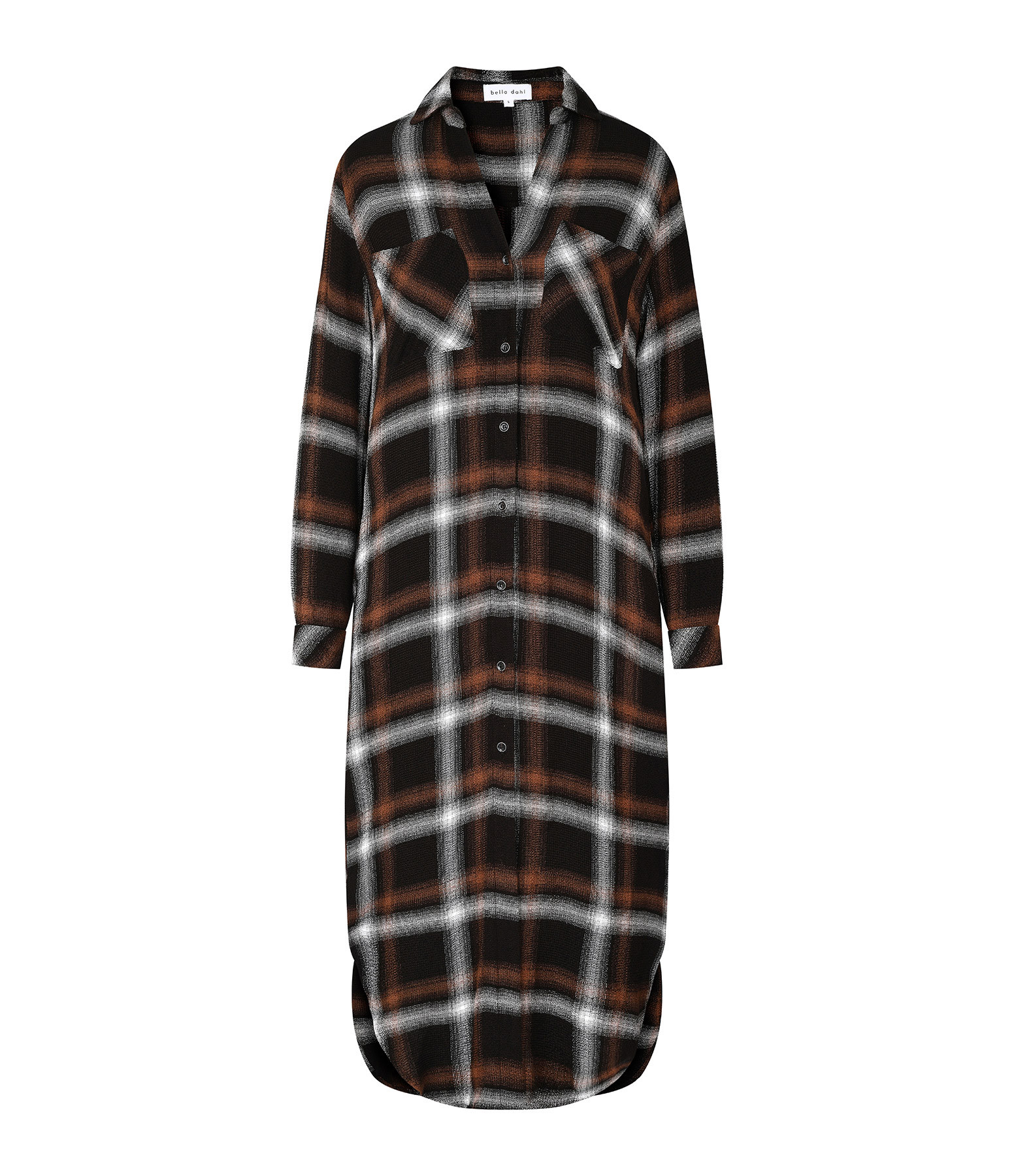 BELLA DAHL - Robe Two Pocket Duster Cannelle