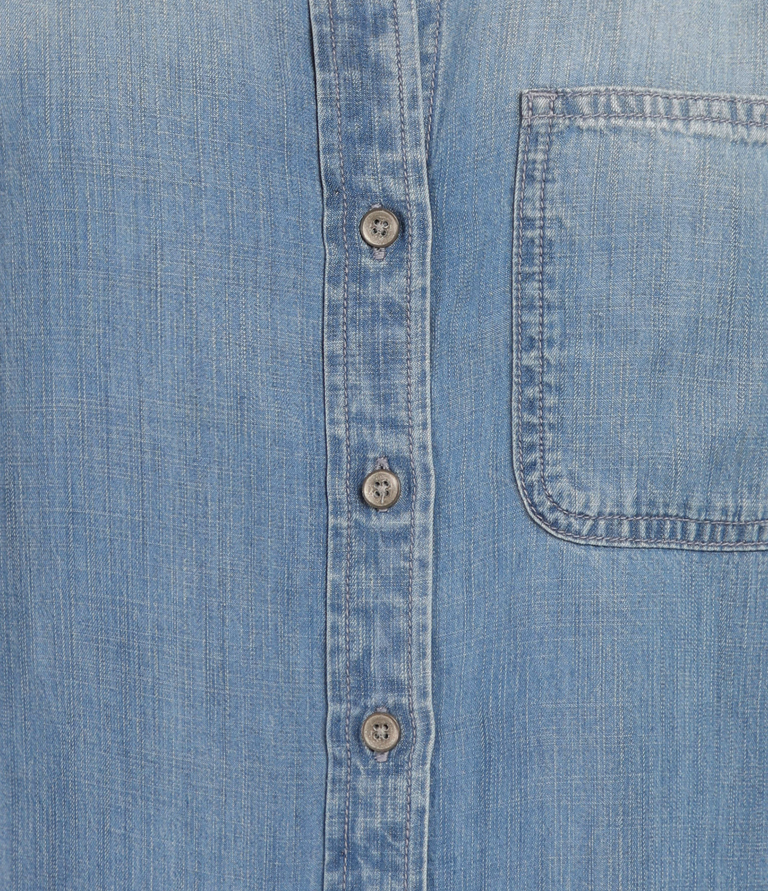BELLA DAHL - Chemise Tail Button Down Medium Ombre