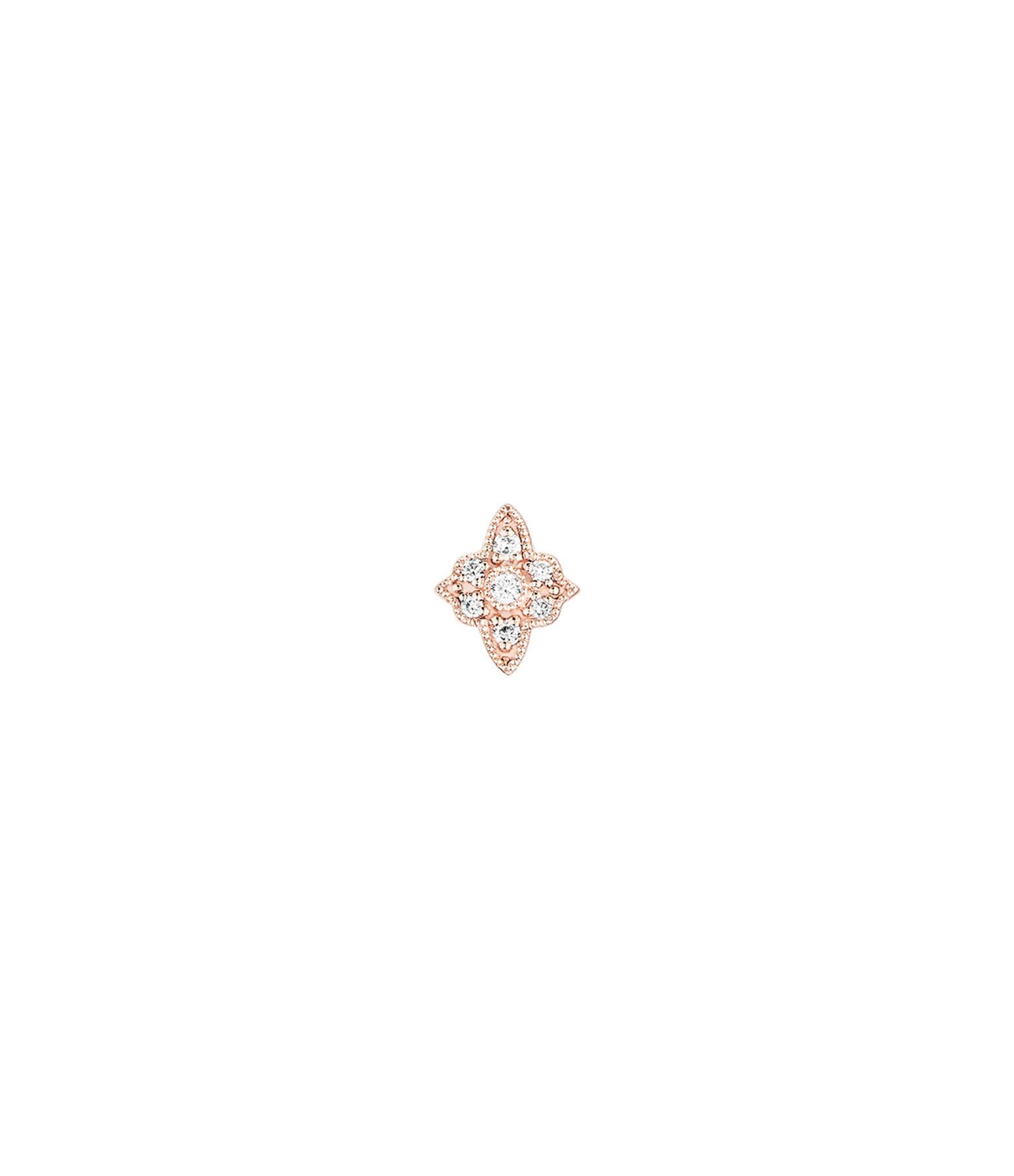 STONE PARIS - Boucle d'oreille Bouton Belle Epoque PM Diamants (vendue à l'unité)