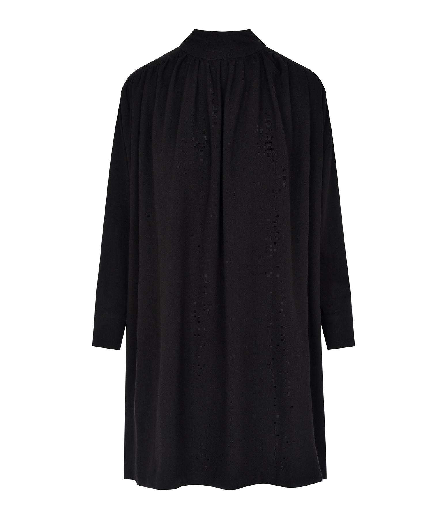 BELLE PIÈCE - Robe Georges Laine Noir