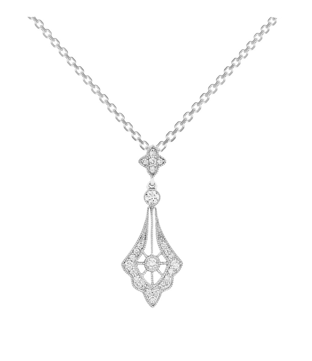 STONE PARIS - Collier Belle Epoque Or Diamants