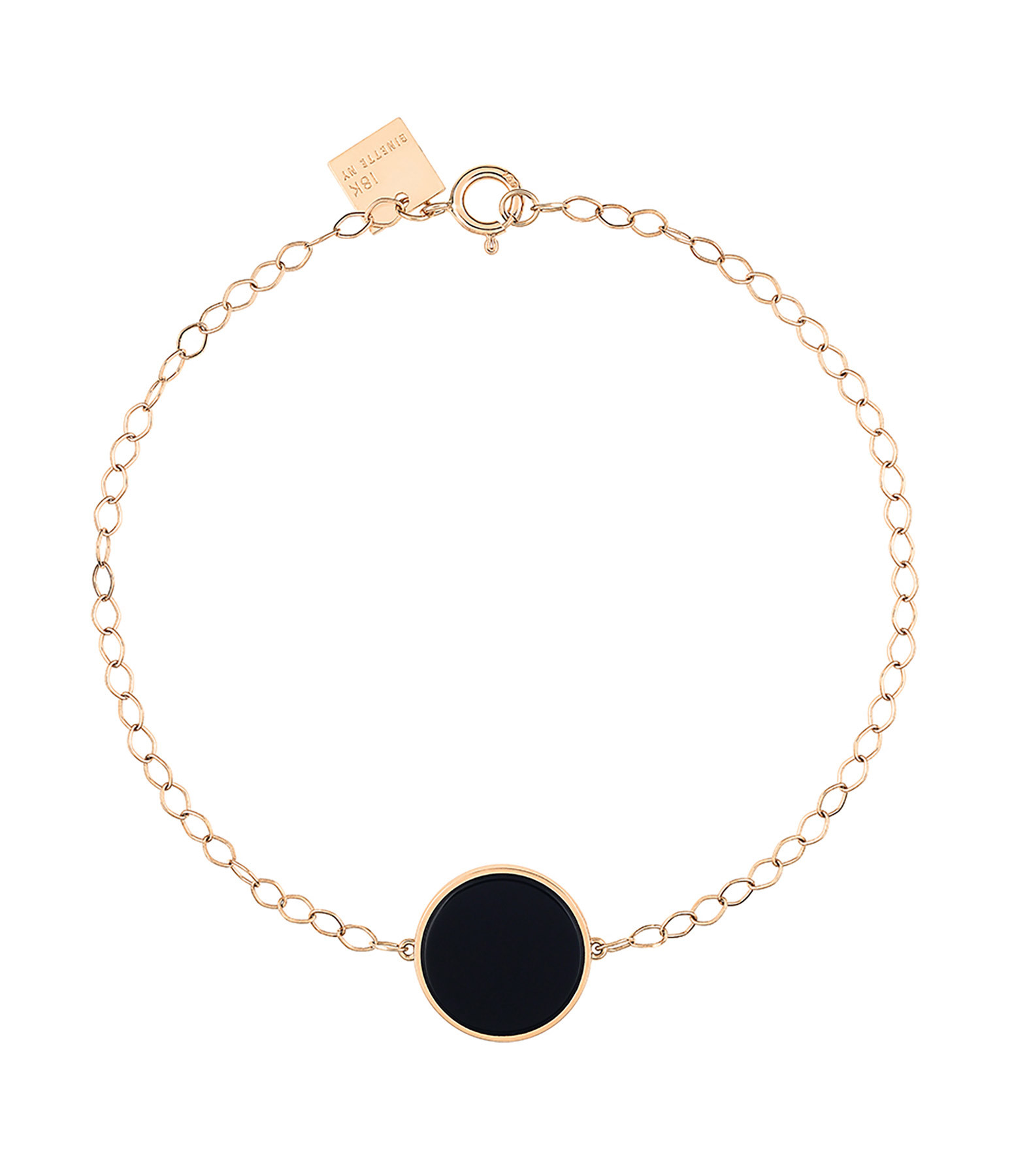 GINETTE_NY,Bracelet Ever Disc Onyx,lulli-sur-la-toile.com