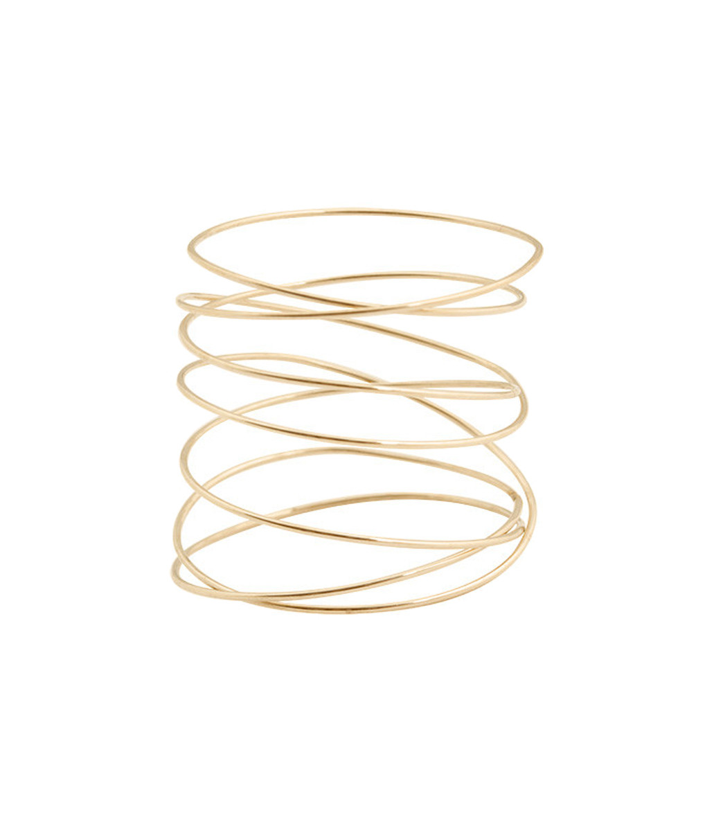 LSONGE - Bague Sublime Spirale Or