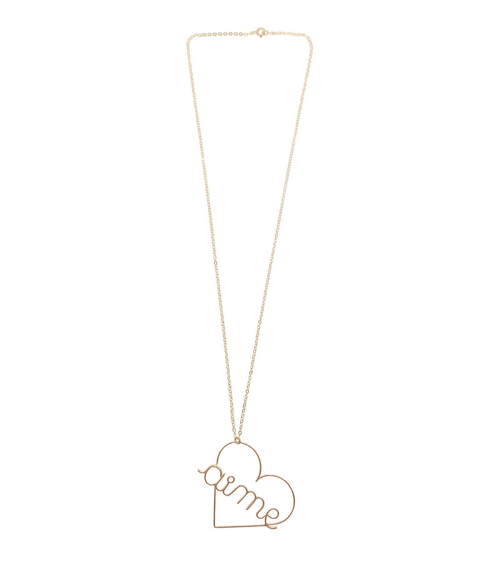 ATELIER PAULIN - Collier Aime GM Gold Filled 14K, Atelier Paulin x Inside Closet