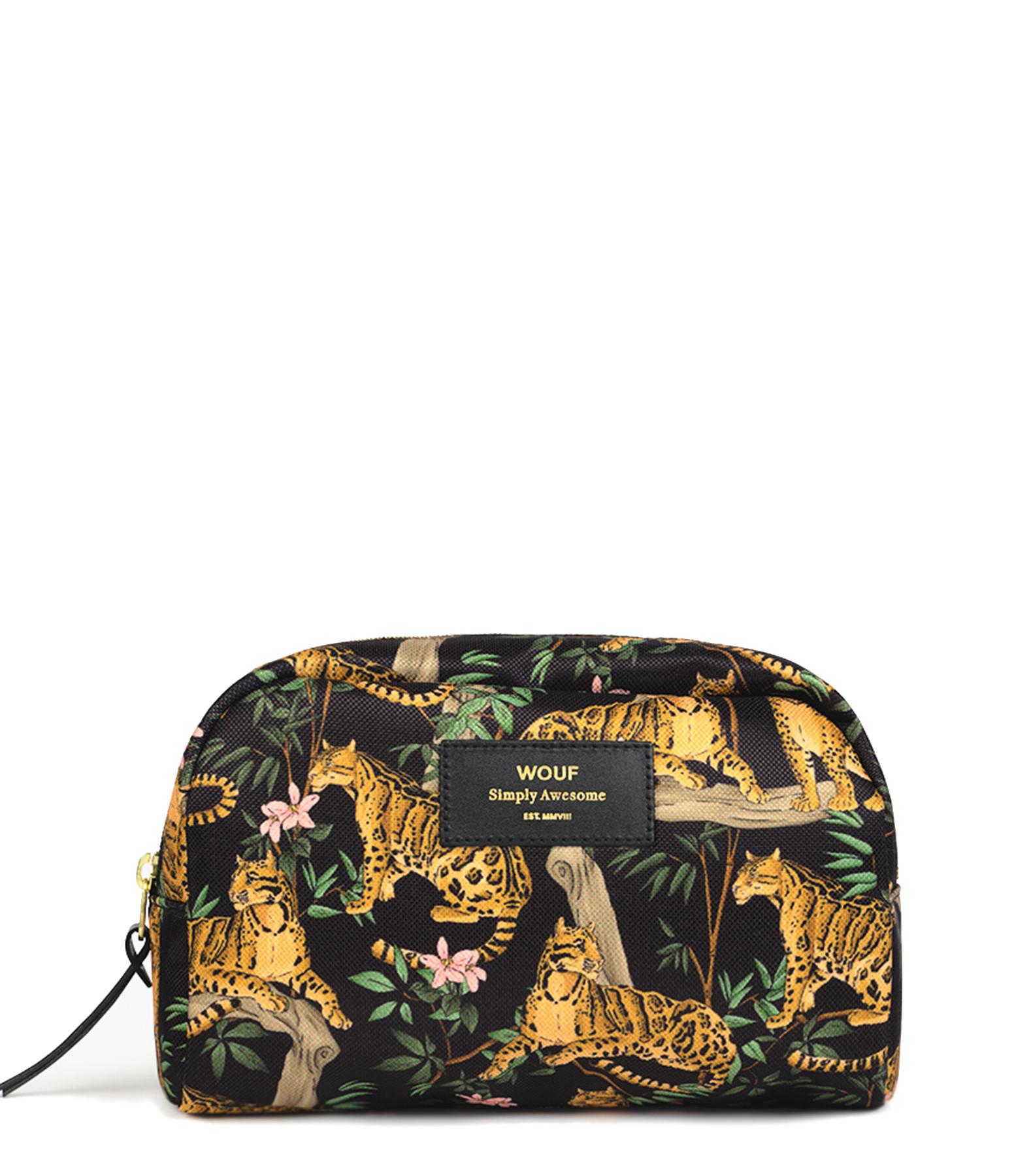 WOUF - Trousse Big Beauty Black Lazy Jungle
