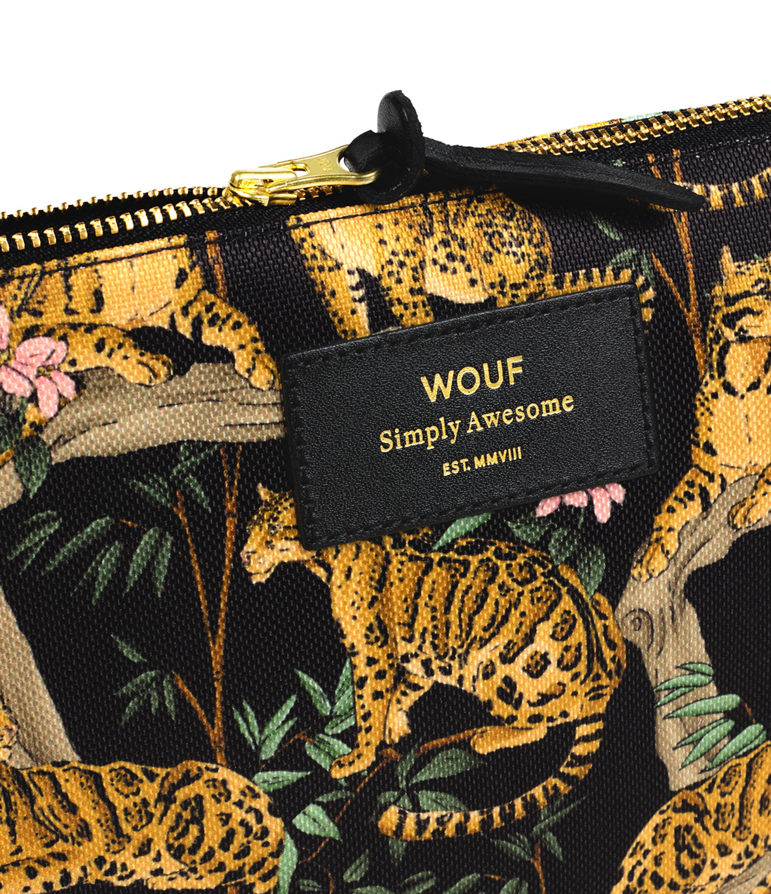 WOUF - Trousse L Black Lazy Jungle