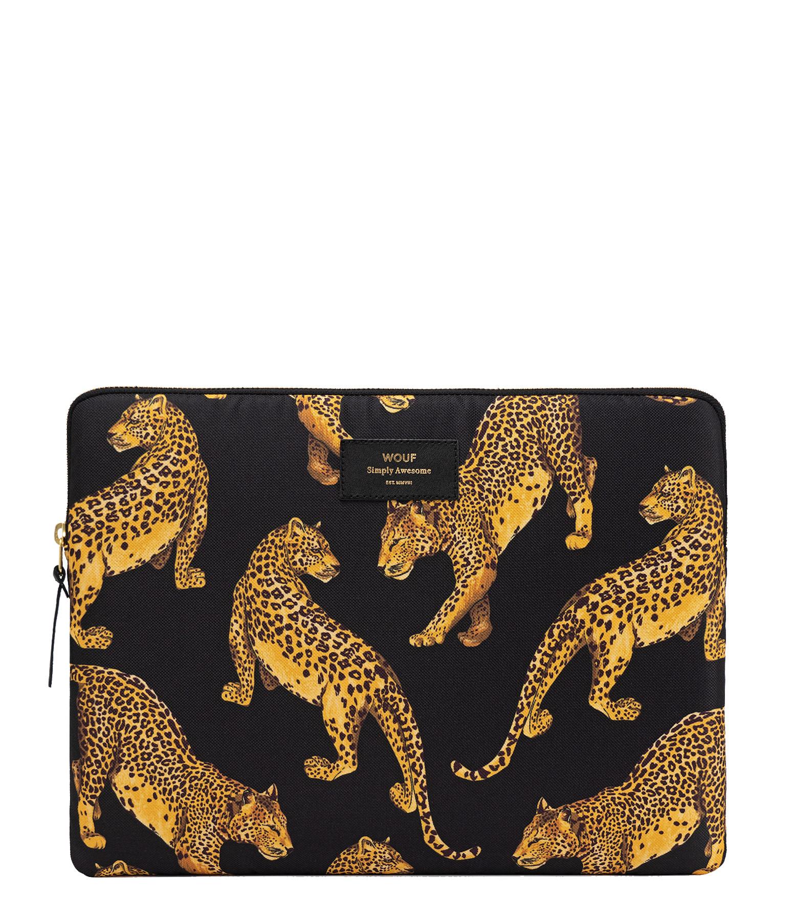 WOUF - Housse 15'' Black Leopard