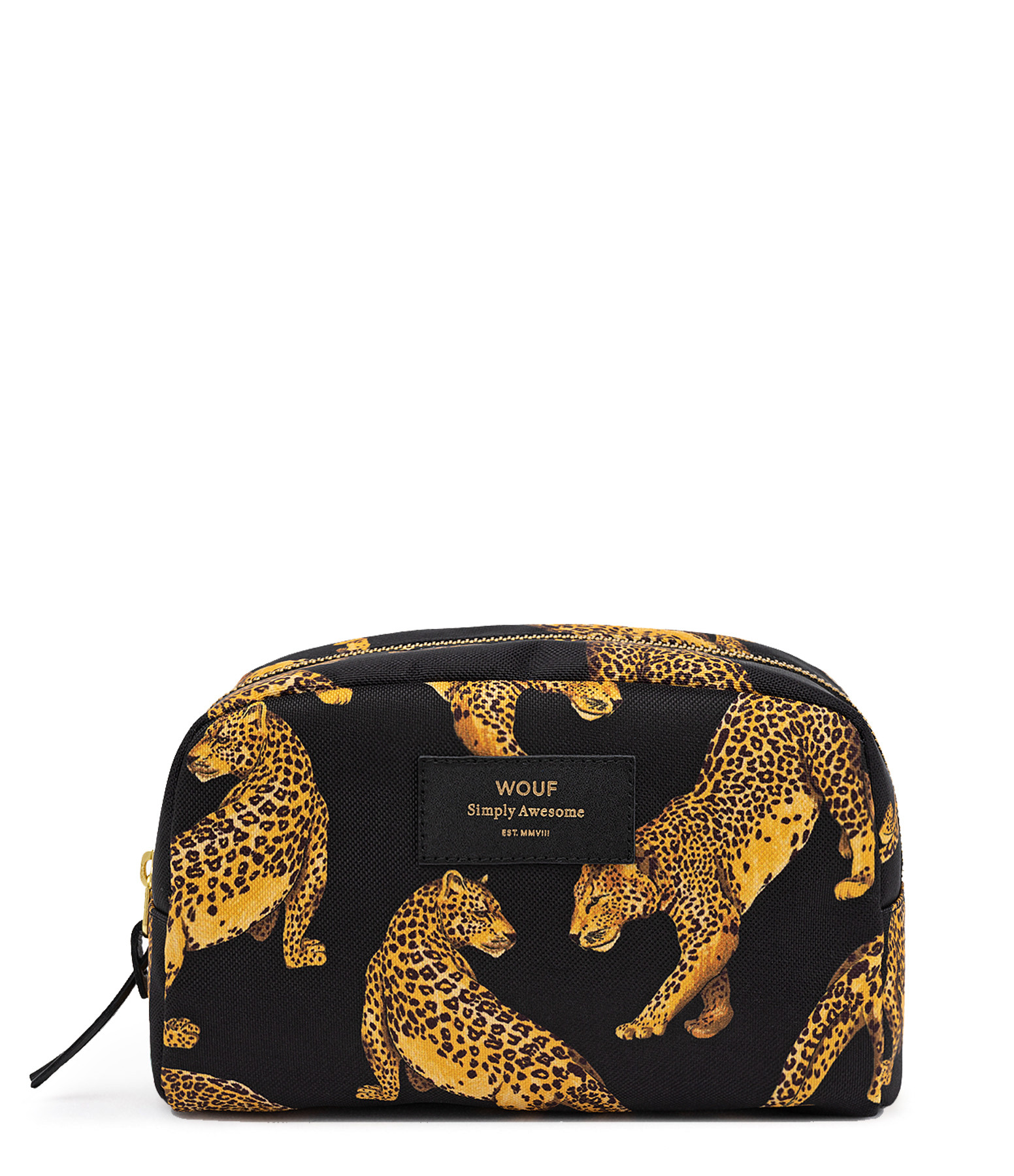 WOUF - Trousse Big Beauty Black Leopard