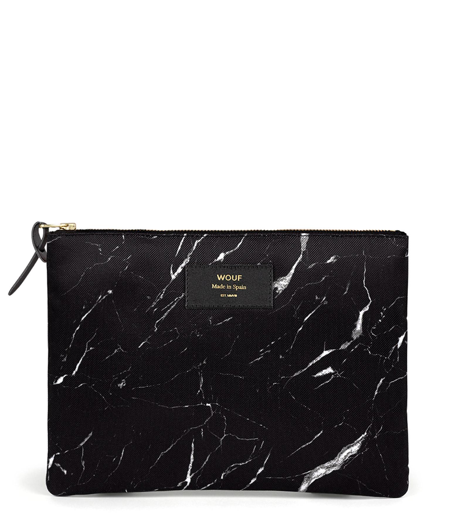 WOUF - Trousse XL Black Marble