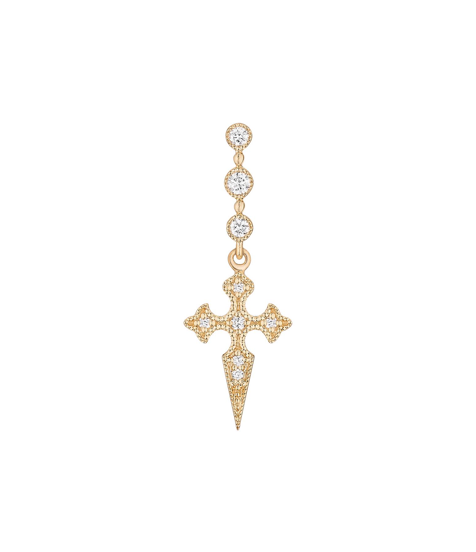 STONE PARIS - BO Barrette Blood Diamonds Or Jaune (unité)