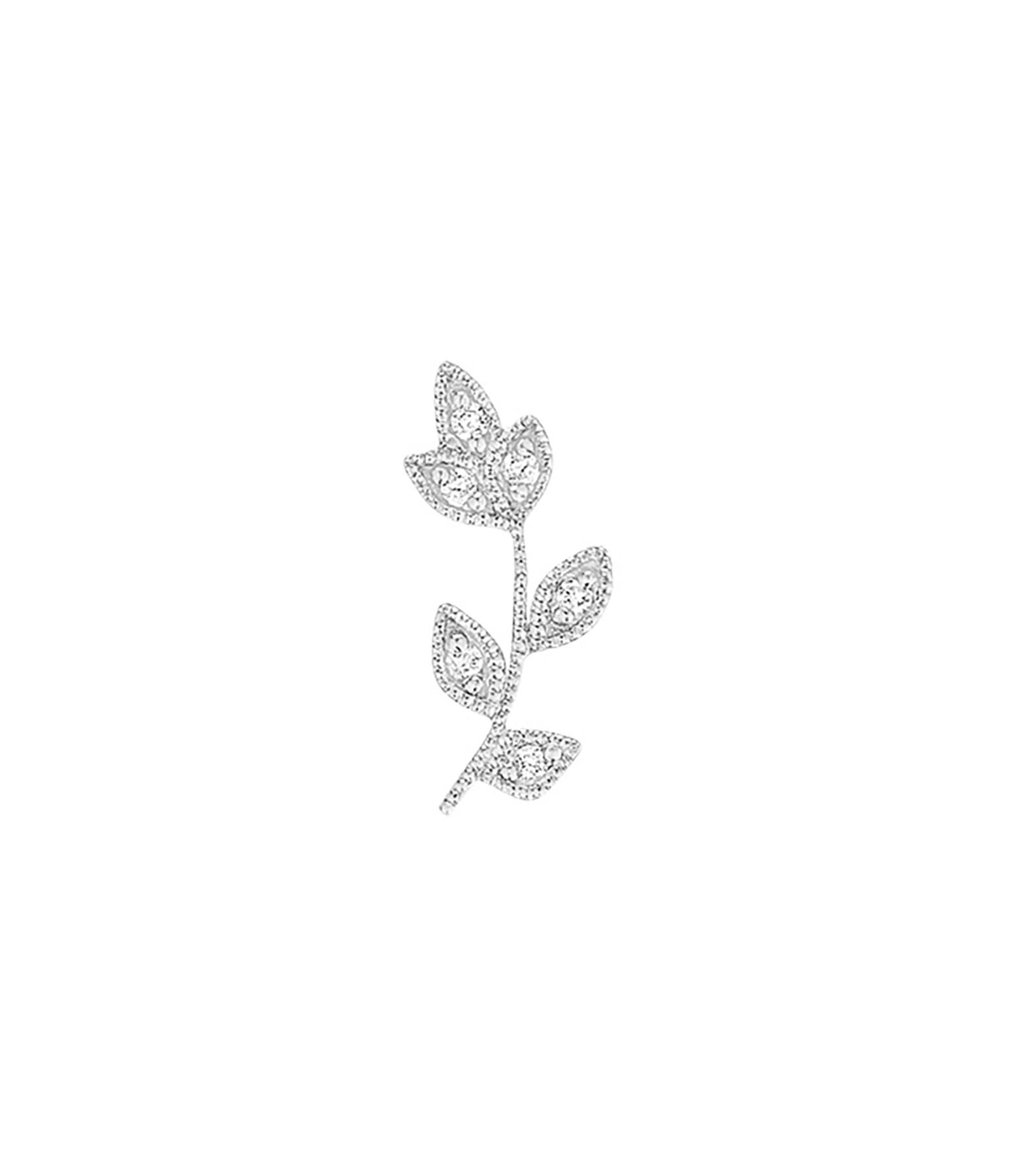 STONE PARIS - Boucle d'oreille Bloom Or Diamants (vendue à l'unité)