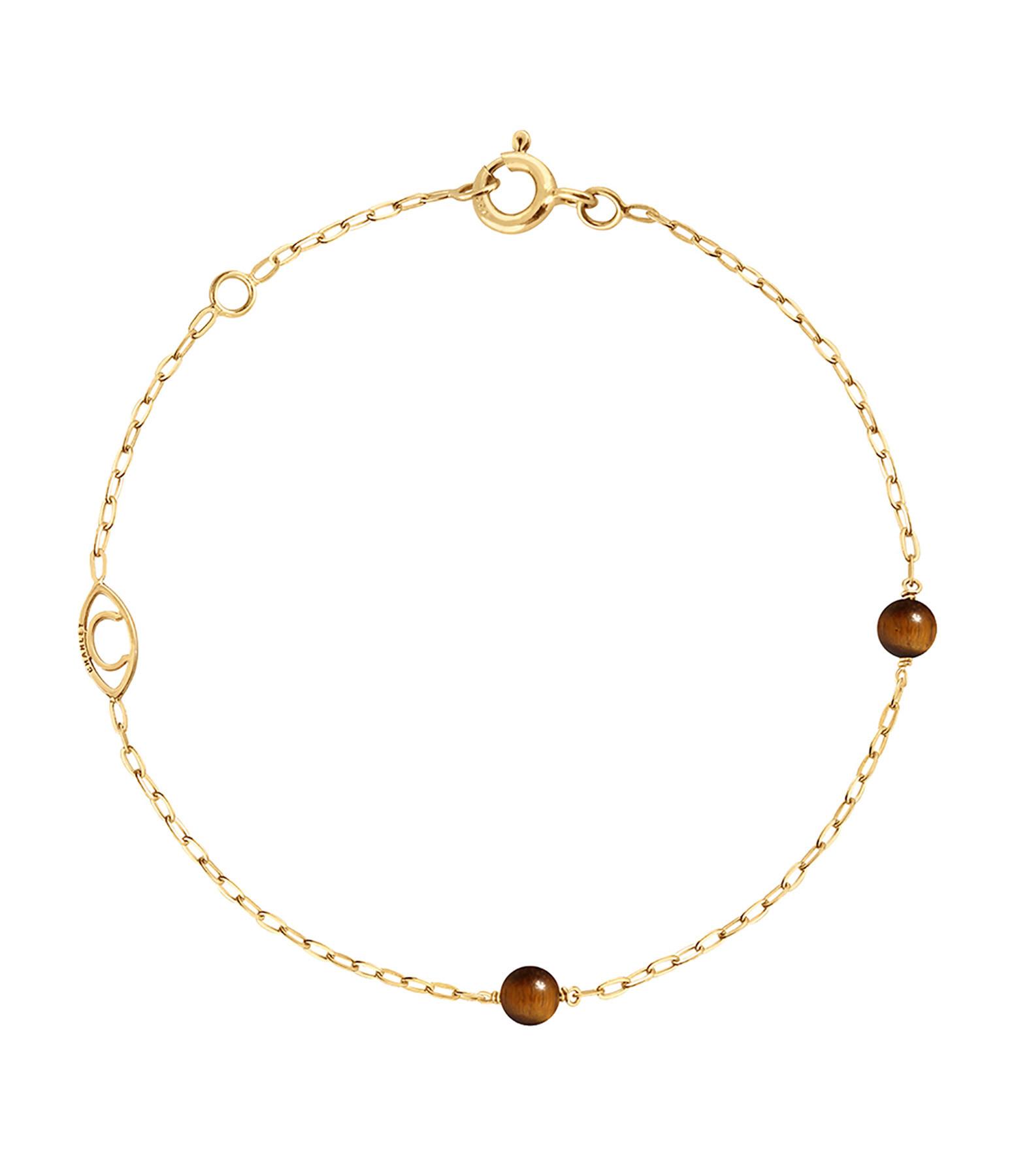 CHARLET - Bracelet Massilia Oeil de Tigre