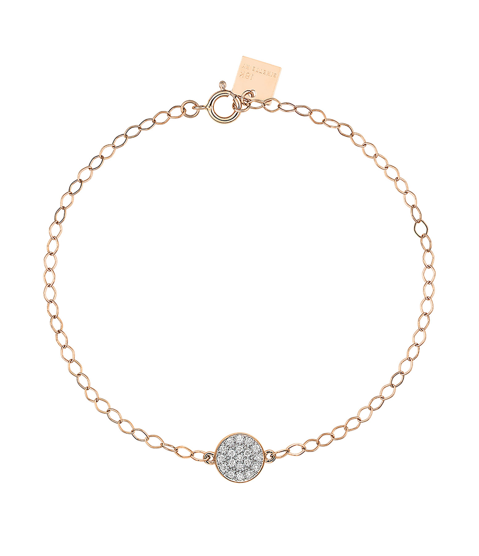 GINETTE_NY,Bracelet Mini Ever Disc Diamants,lulli-sur-la-toile.com