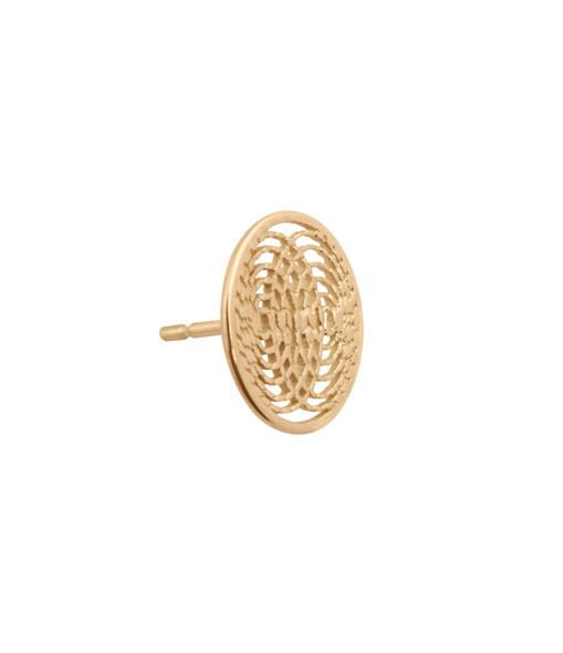 Boucle d'oreille Petite Médaille Aura (vendue à l'unité) - Charlet