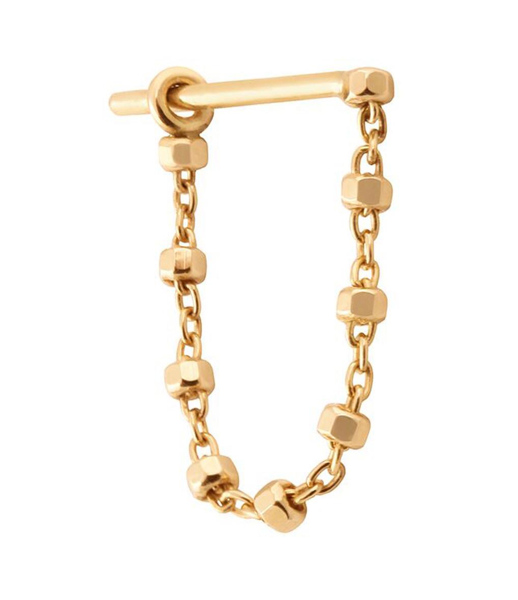 Boucle d'oreille Chaîne Diamantée 3 cm (vendue à l'unité) - CHARLET