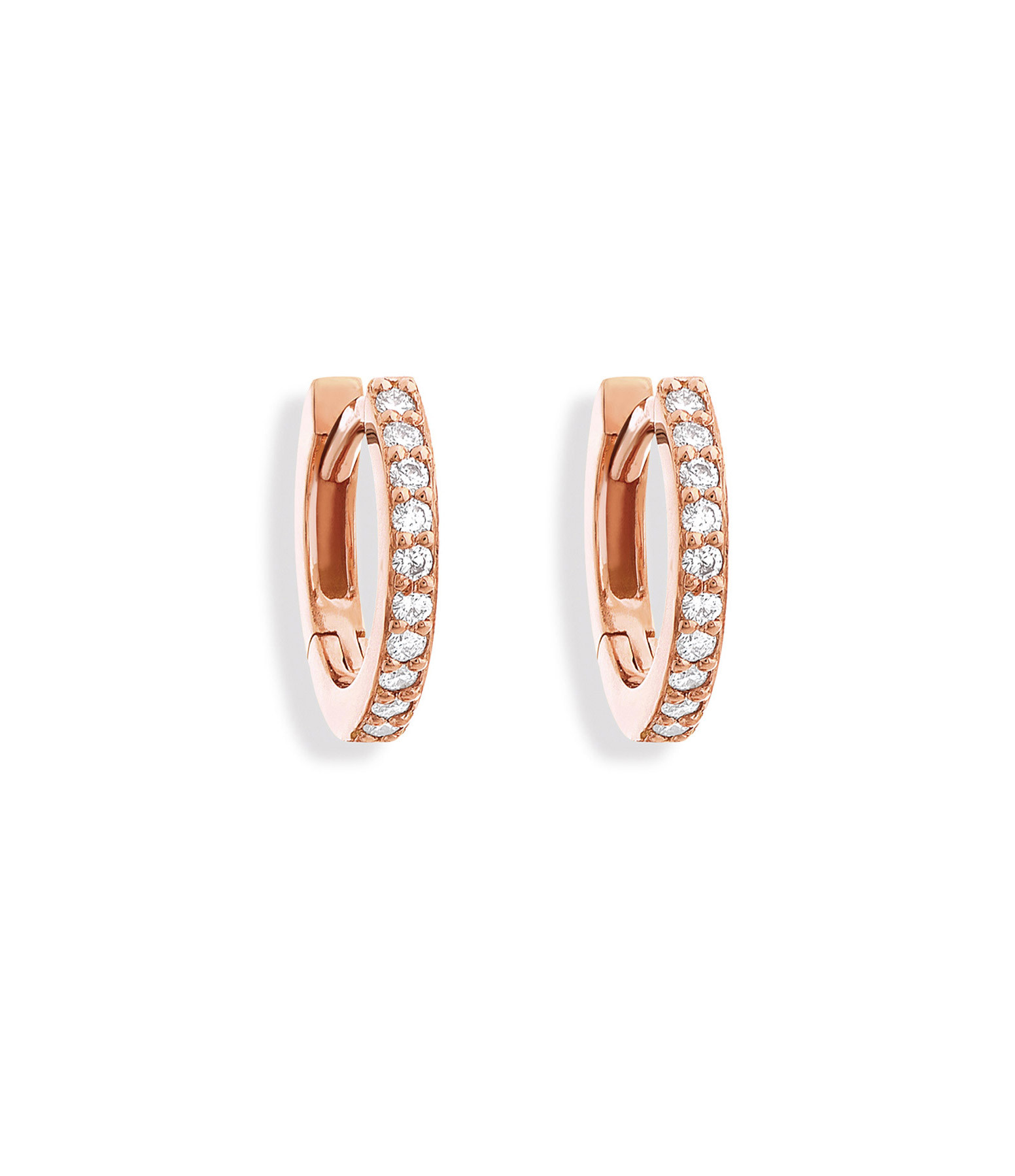 NAVA JOAILLERIE - Boucles d'oreilles Gaby Or Rose
