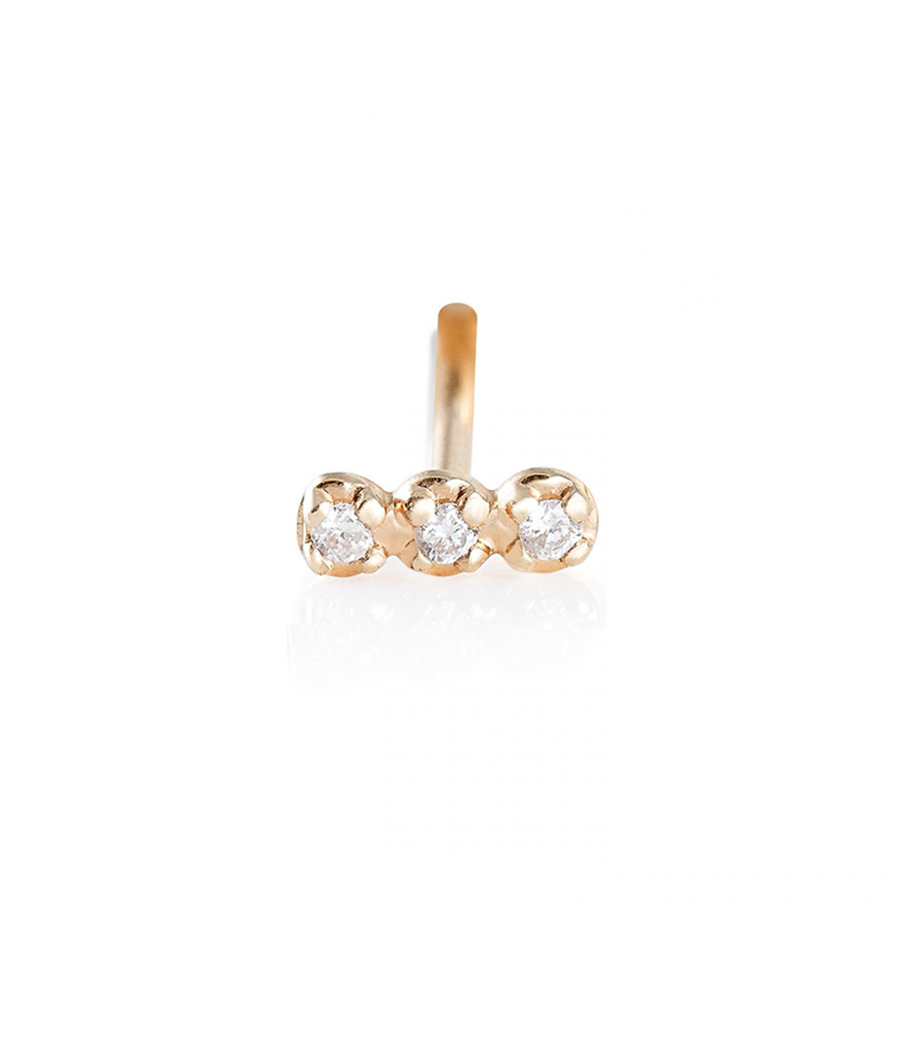 Boucle Solo Diamond Strip(unité) - GINETTE_NY