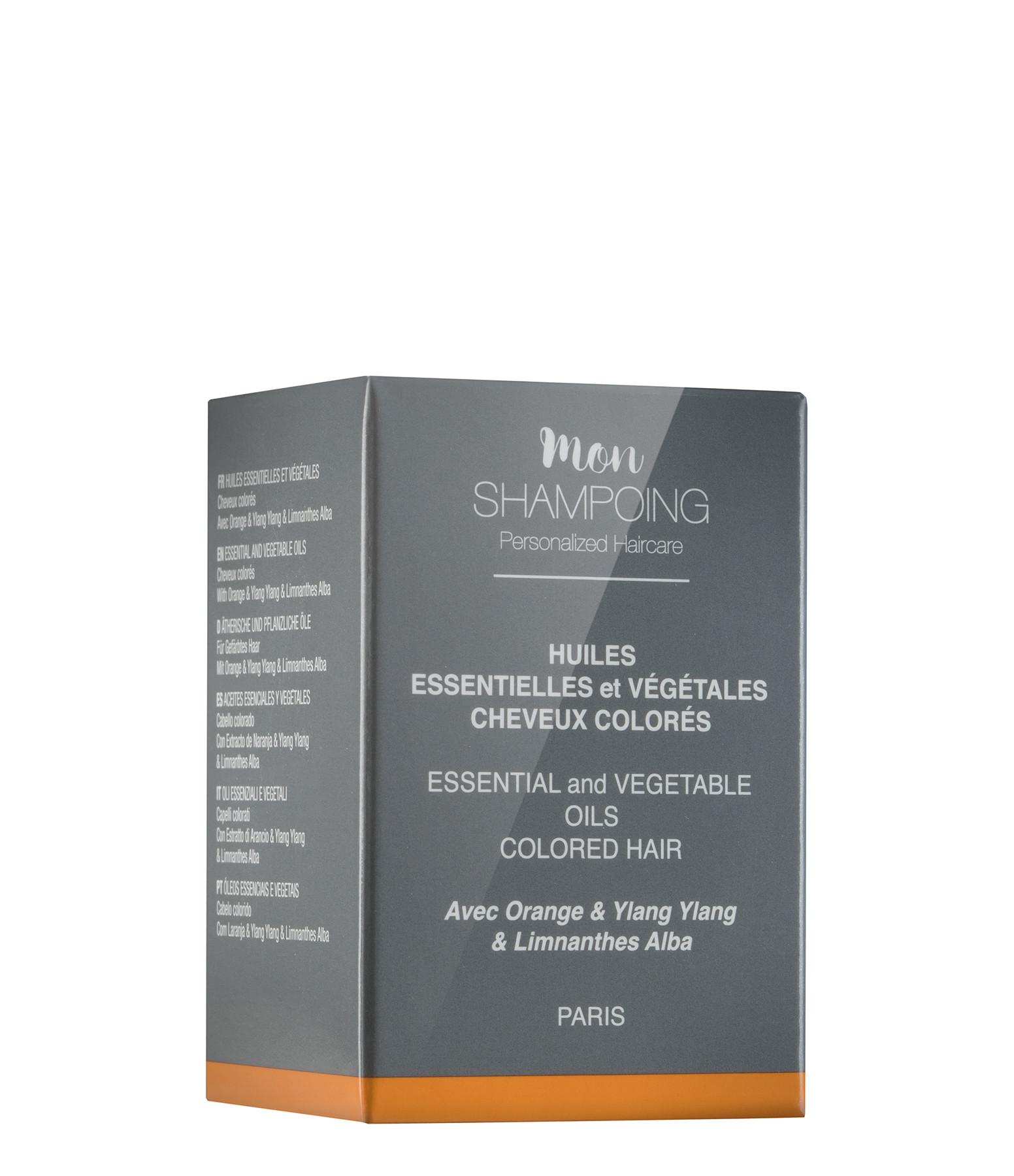 MON SHAMPOING - Booster Huiles Essentielles Cheveux Colorés 5ml