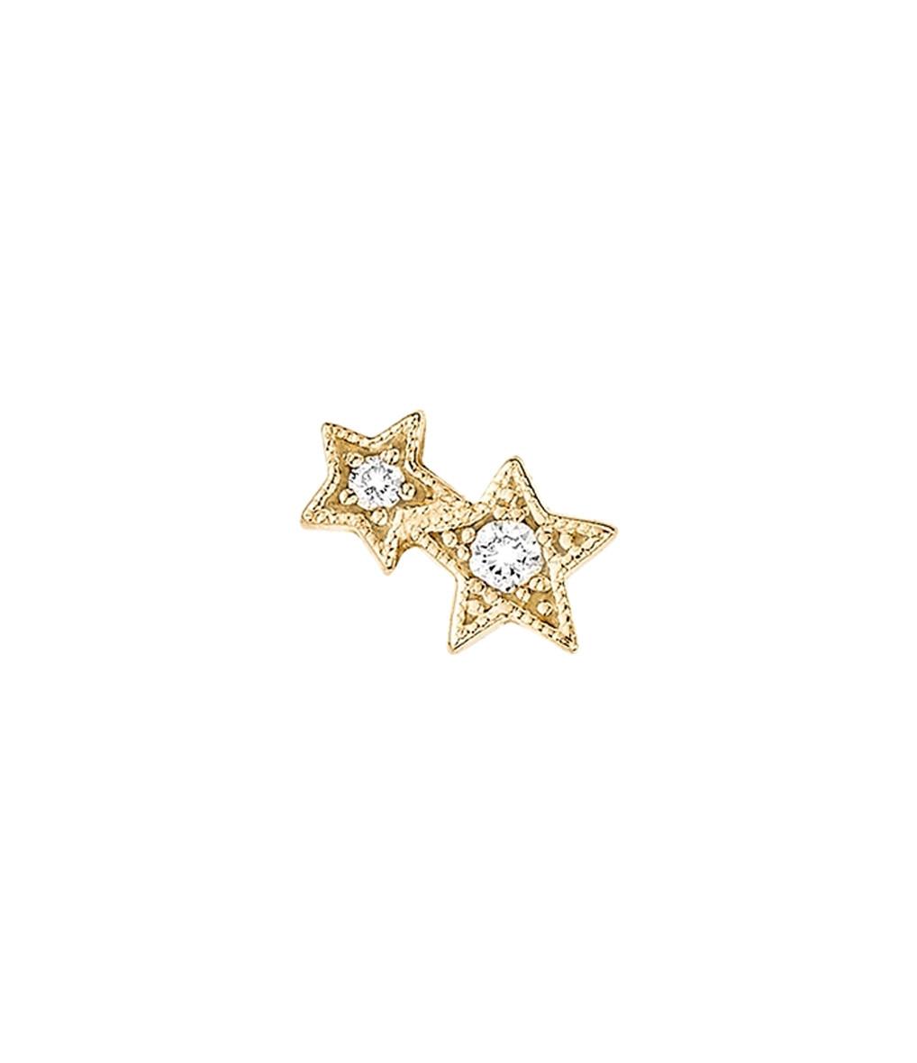 Boucle d'or. Bouton Stardust (unité) - Stone