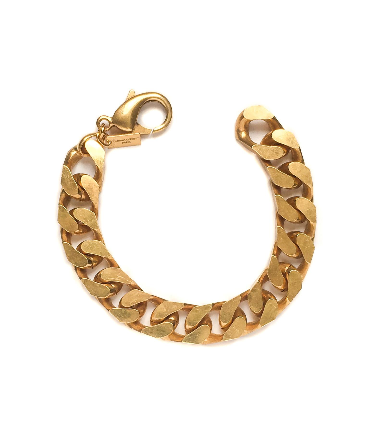 PERRINE TAVERNITI - Bracelet Cardinet Plaqué Or