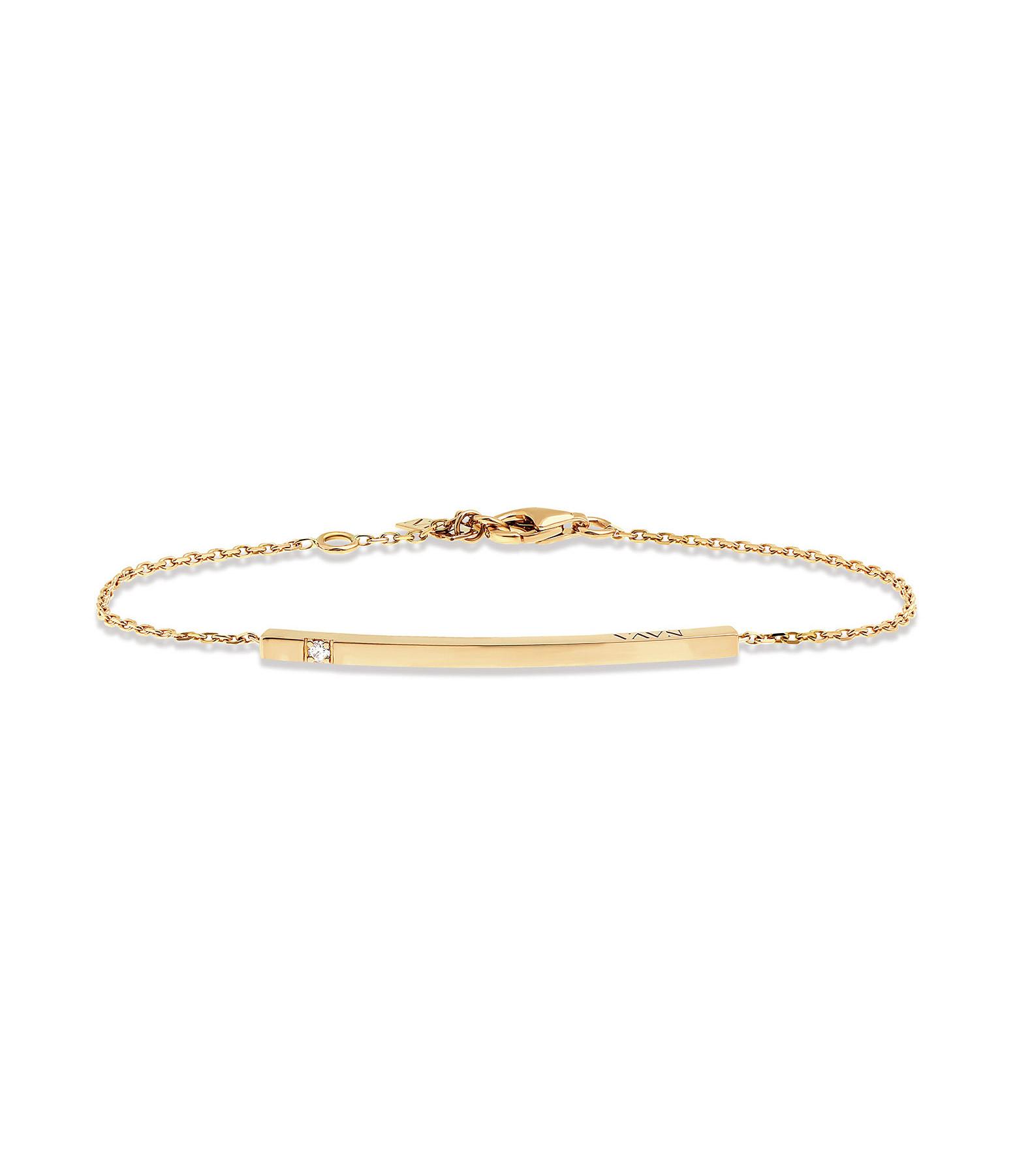 NAVA JOAILLERIE - Bracelet Hash One Or Jaune