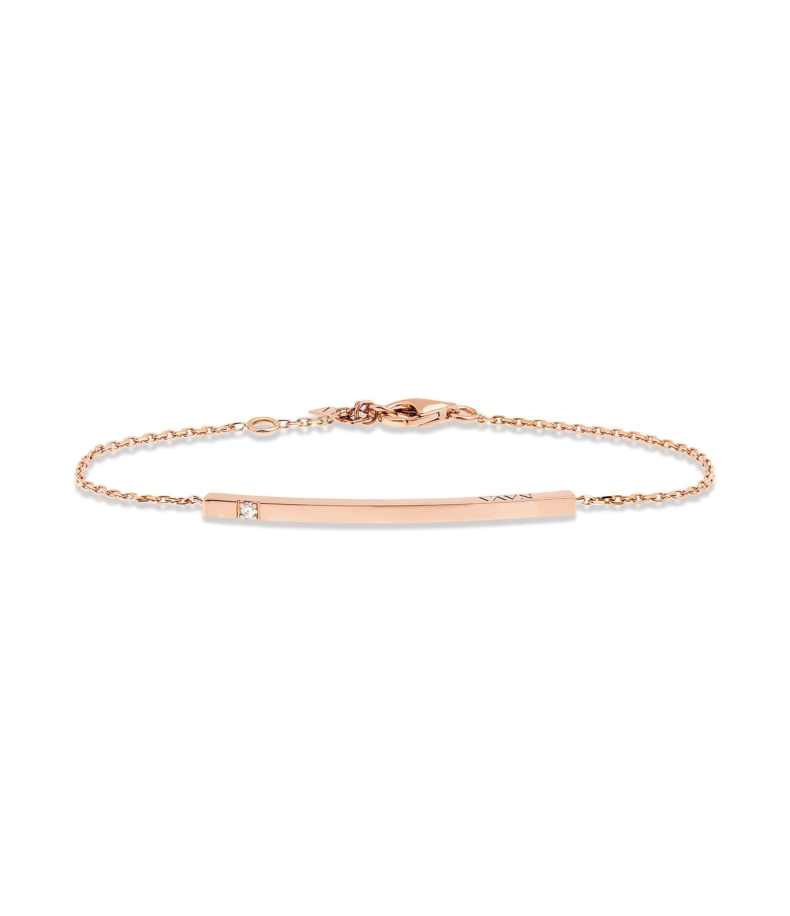 NAVA JOAILLERIE - Bracelet Hash One Or Rose
