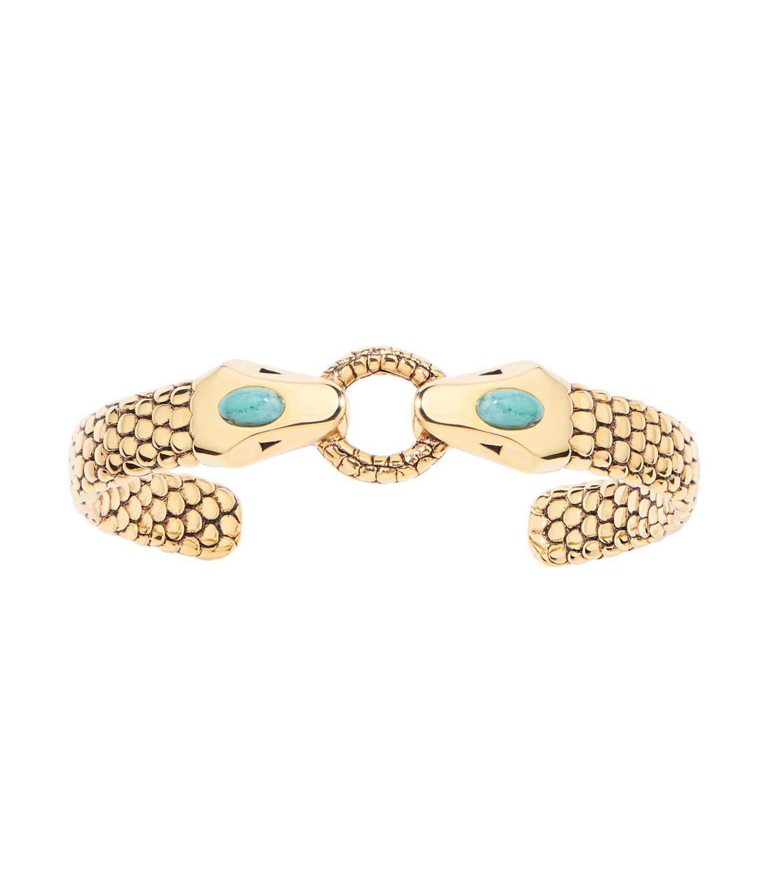 AURELIE BIDERMANN - Bracelet Tao Turquoise Plaqué Or