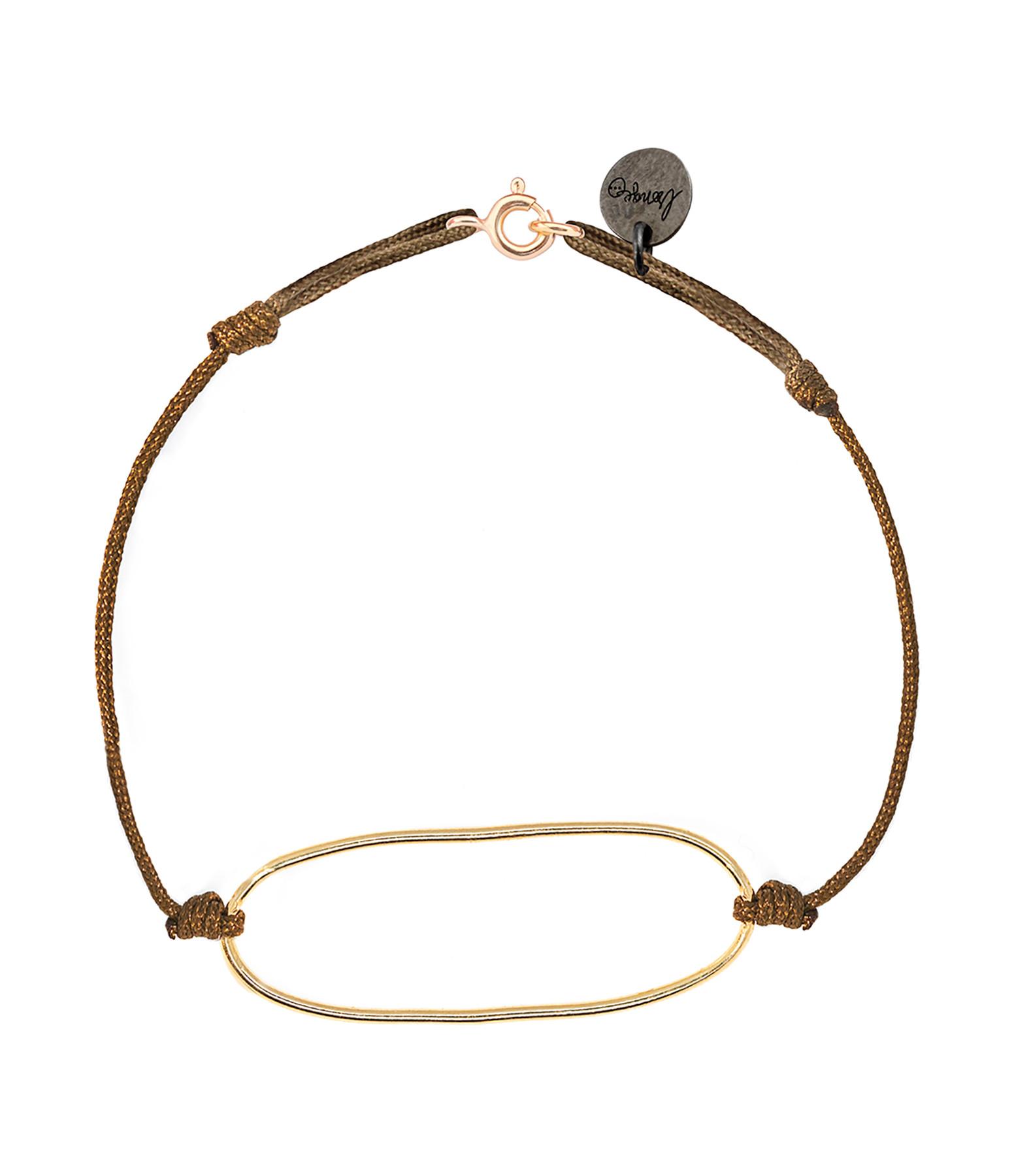 LSONGE - Bracelet Chic Ano Argent Doré