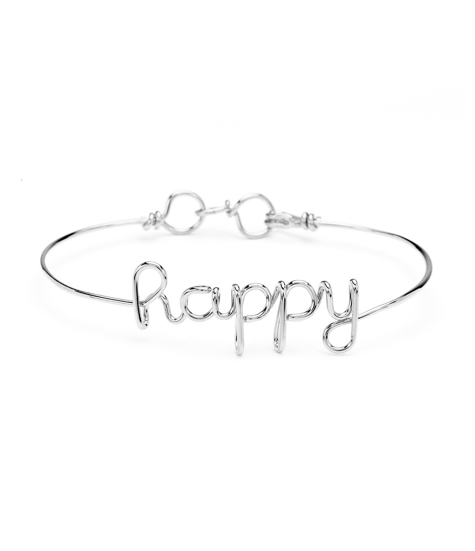 Bracelet Fil Happy Argent - ATELIER PAULIN