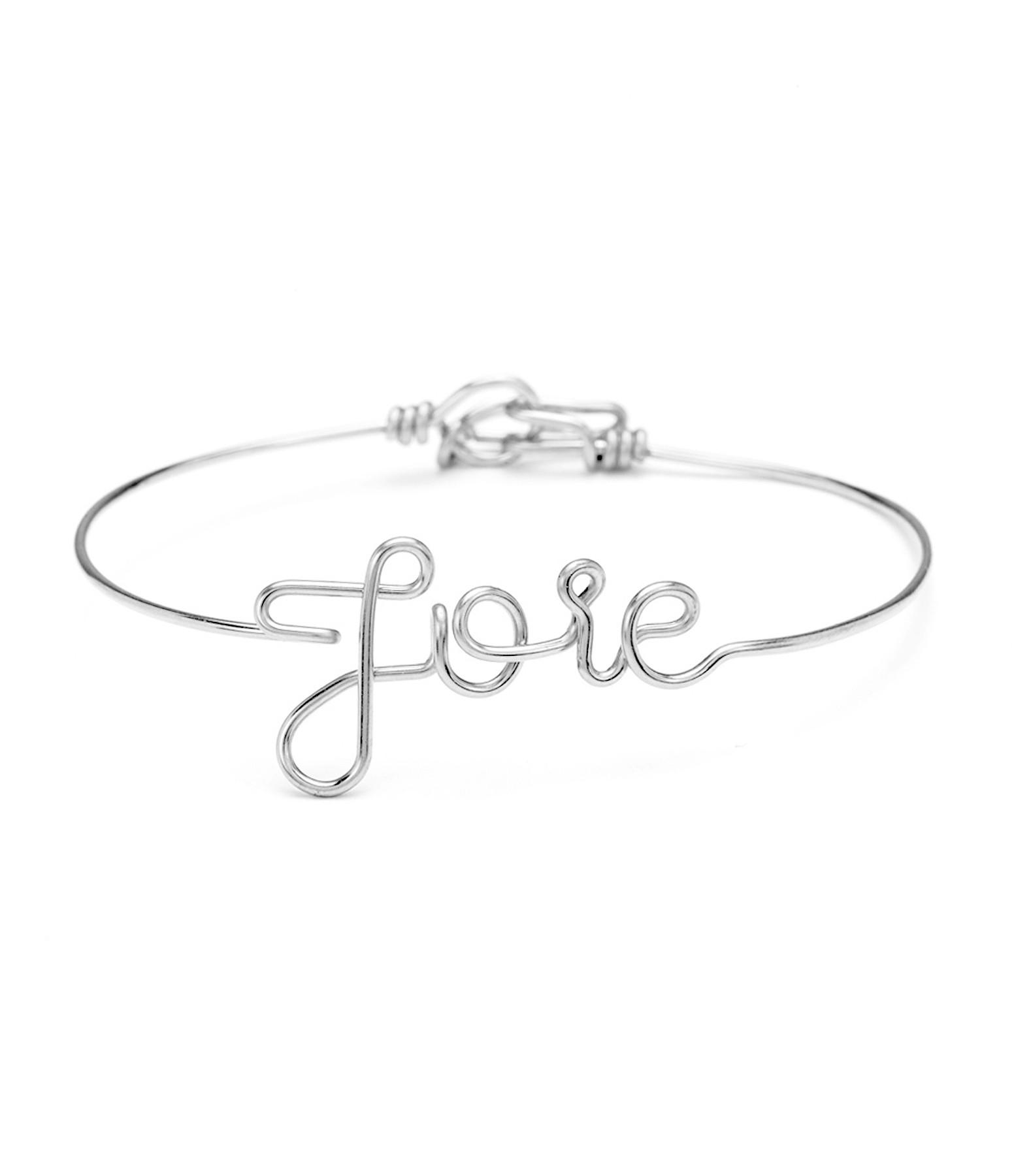 Bracelet Fil Joie Argent - ATELIER PAULIN