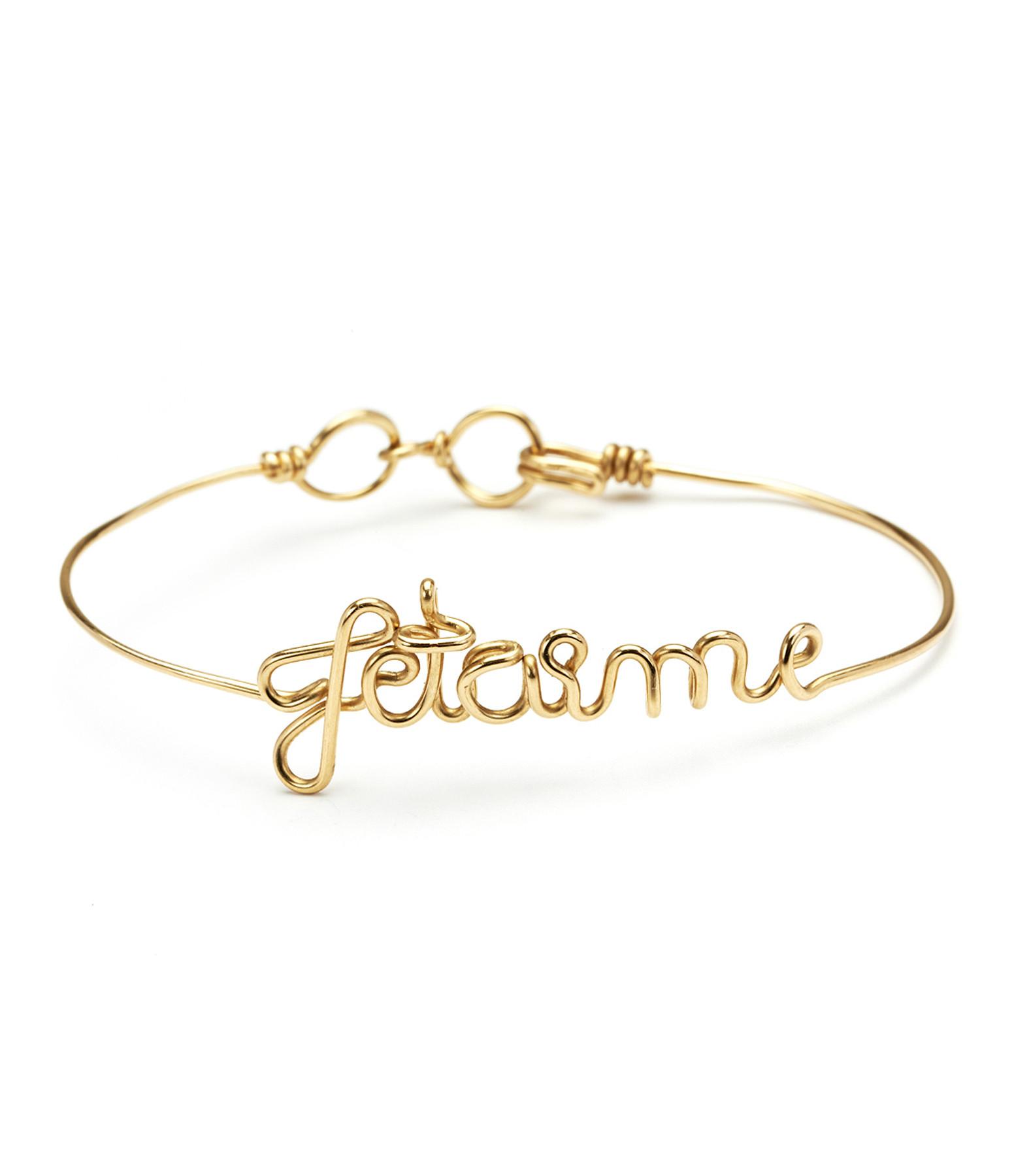 Bracelet Fil Jetaime Gold Filled - ATELIER PAULIN