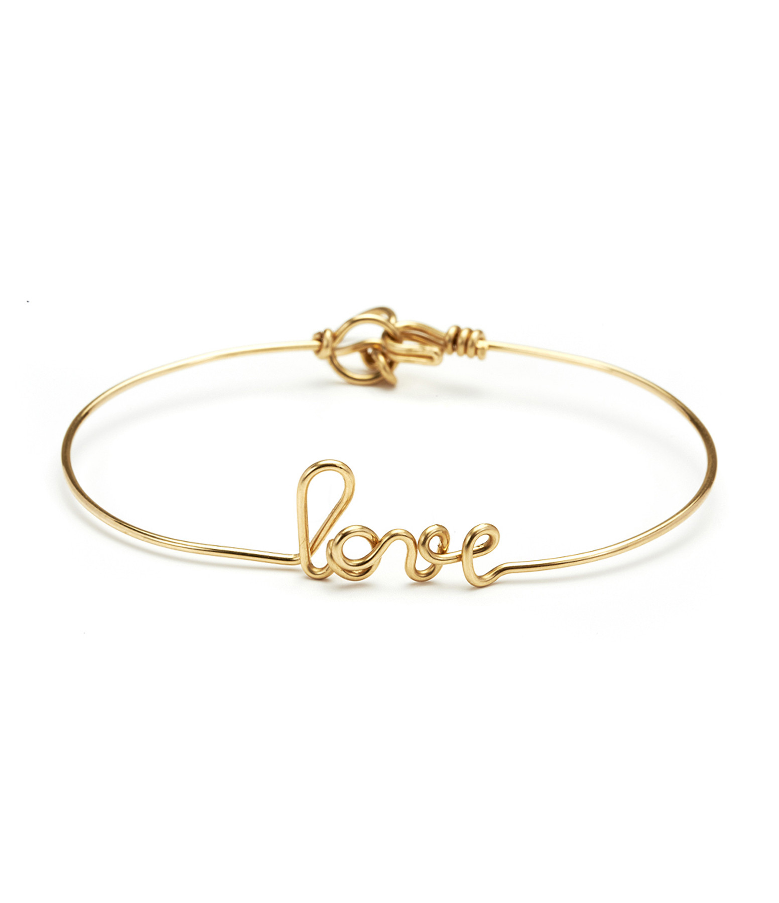 Bracelet Fil Love Gold Filled - ATELIER PAULIN