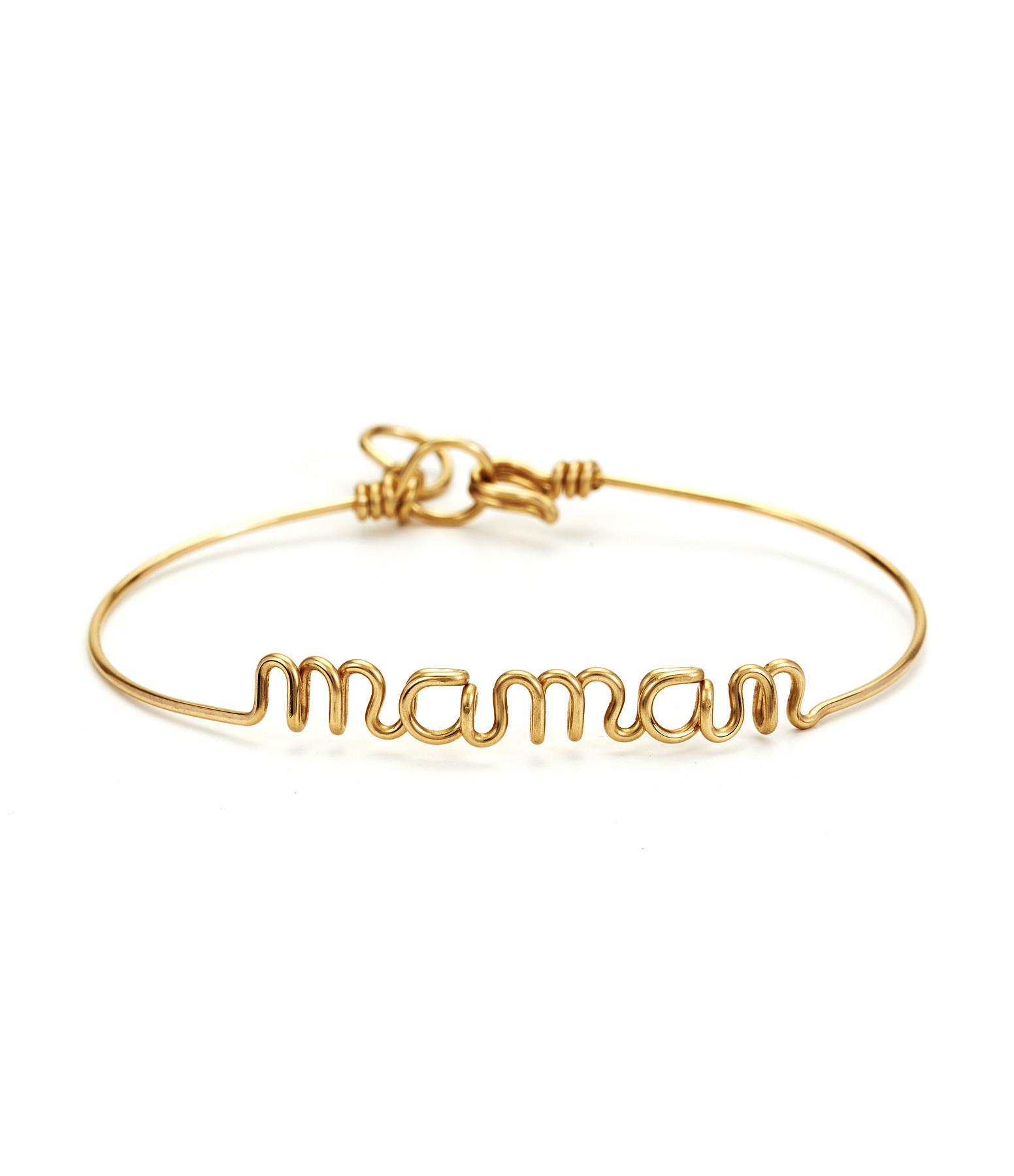 Bracelet Fil Maman Gold Filled - ATELIER PAULIN