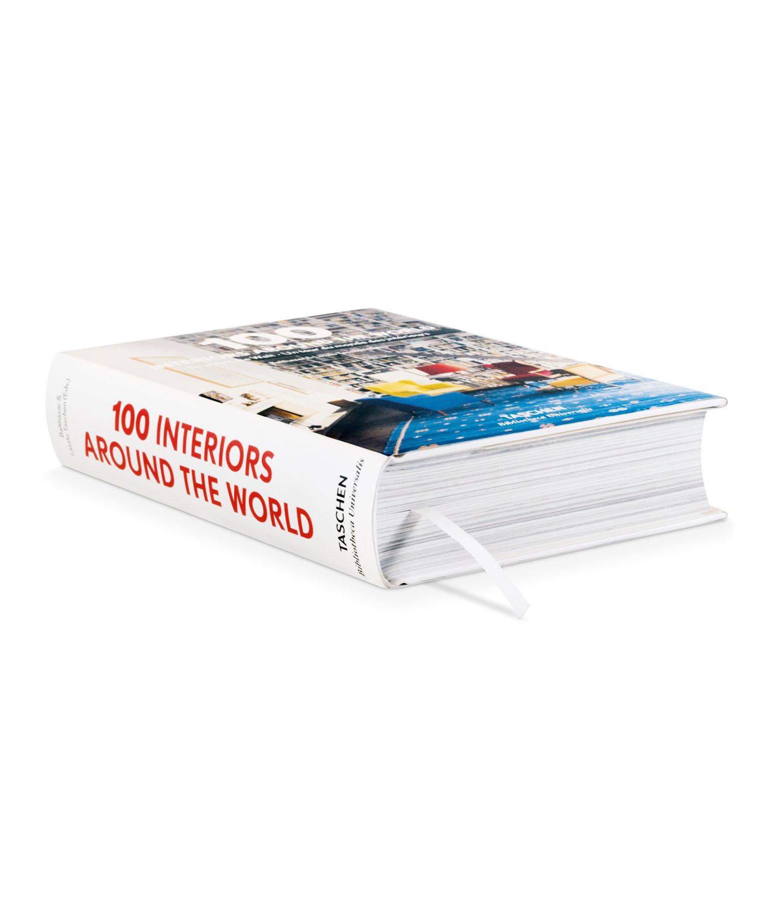 TASCHEN - Livre 100 Interiors Around The World