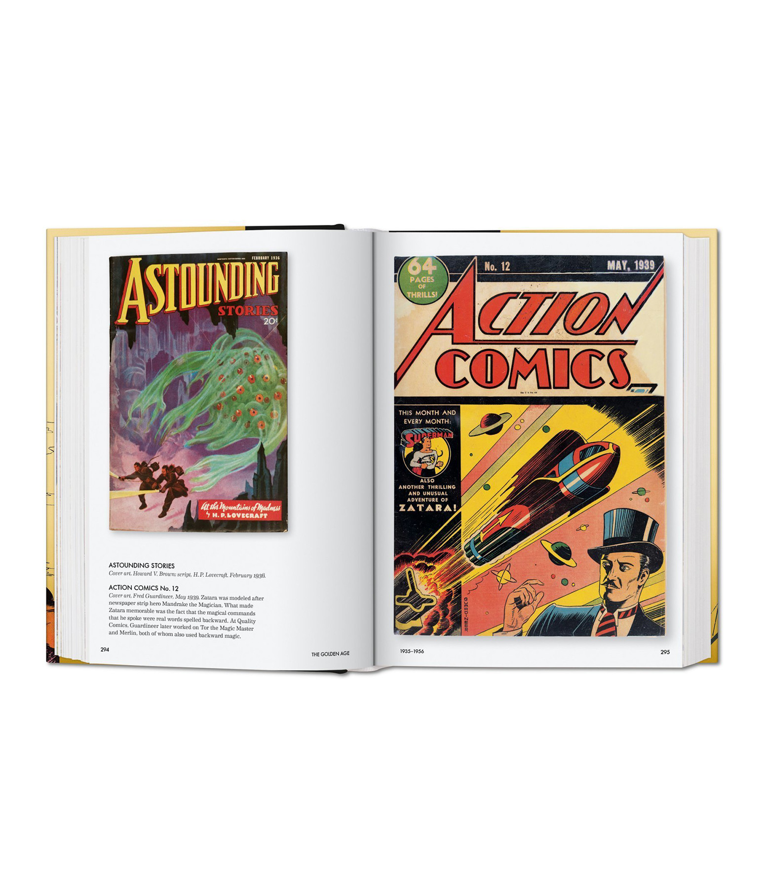 TASCHEN - Livre Golden Age of DC Comics 1935-1956