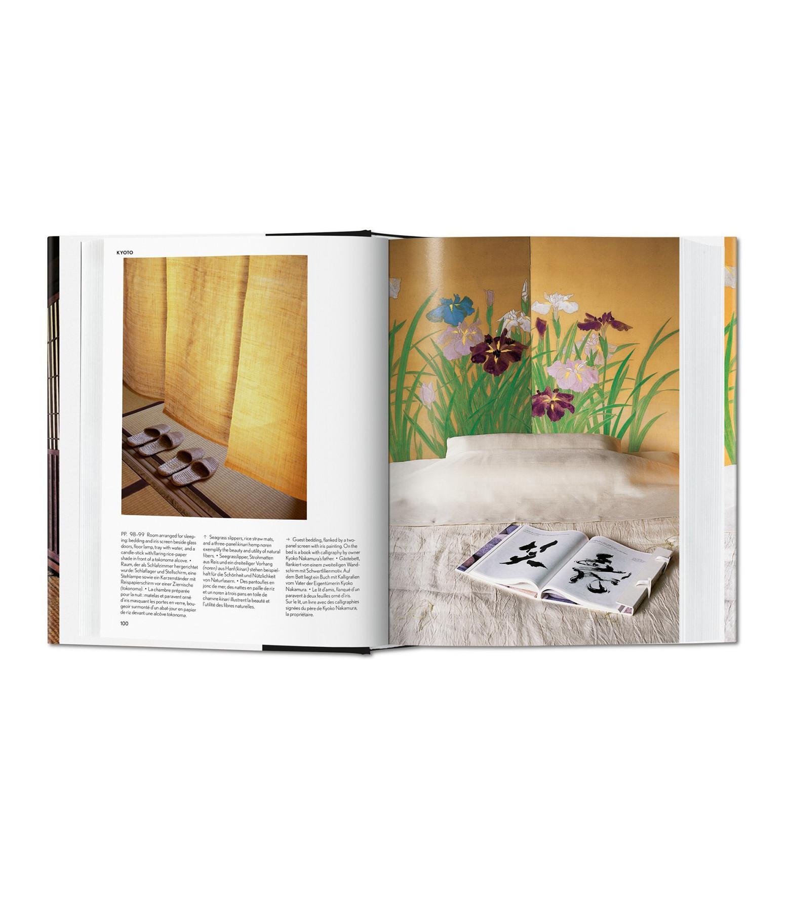 TASCHEN - Livre Living in Japan