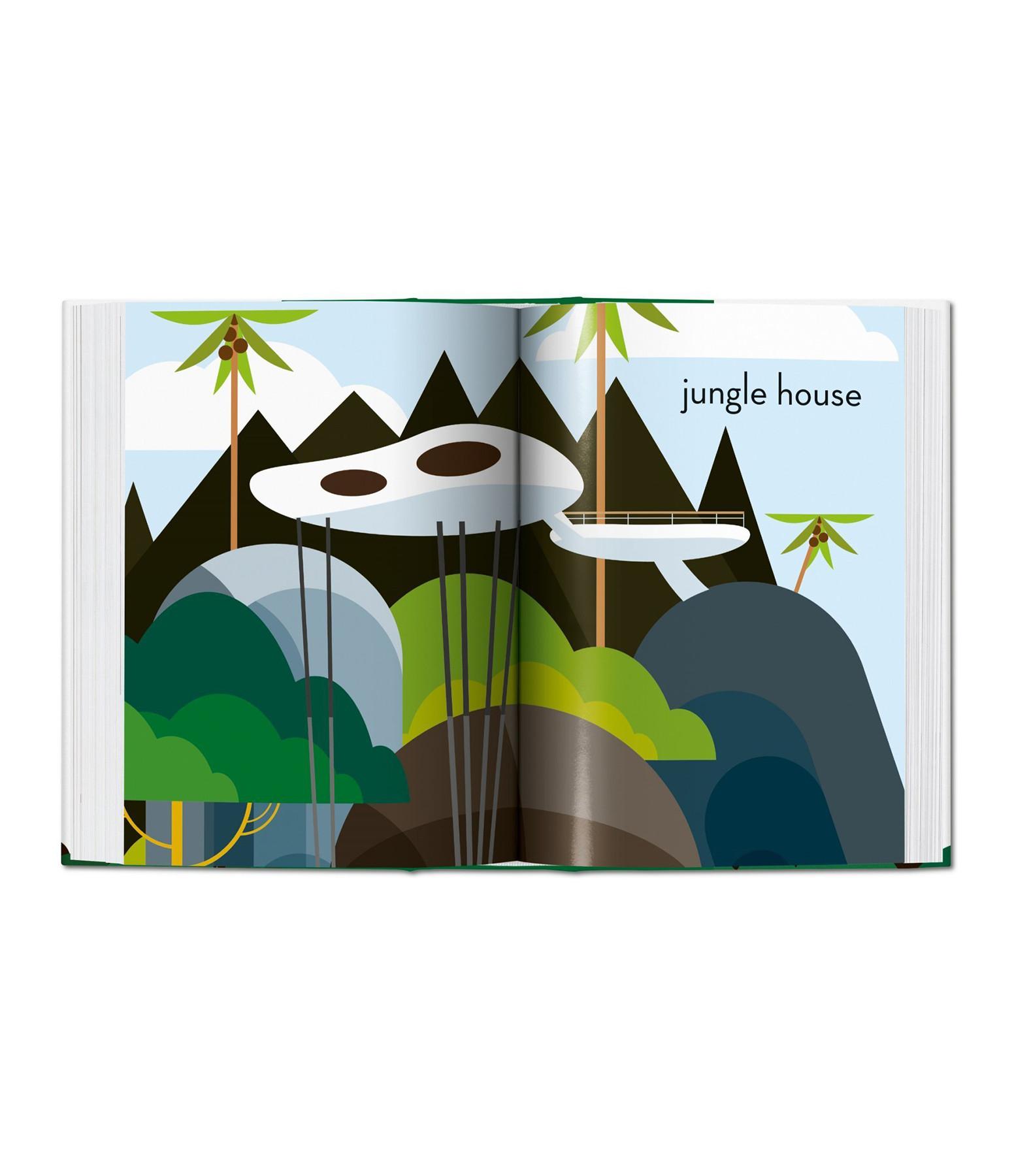 TASCHEN - Livre Tree Houses, Maisons dans les Arbres