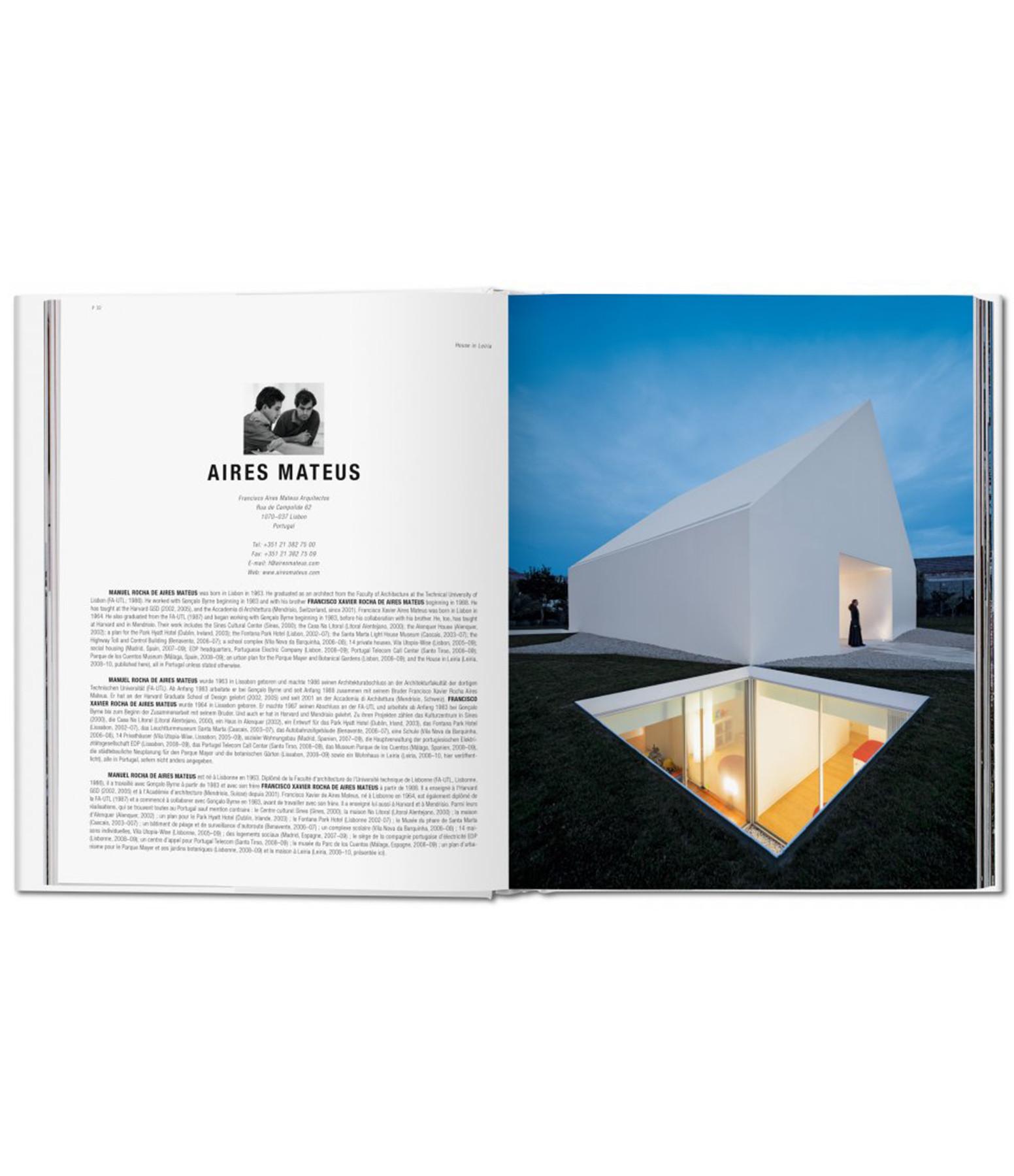 TASCHEN - Livre 100 Contemporary Houses