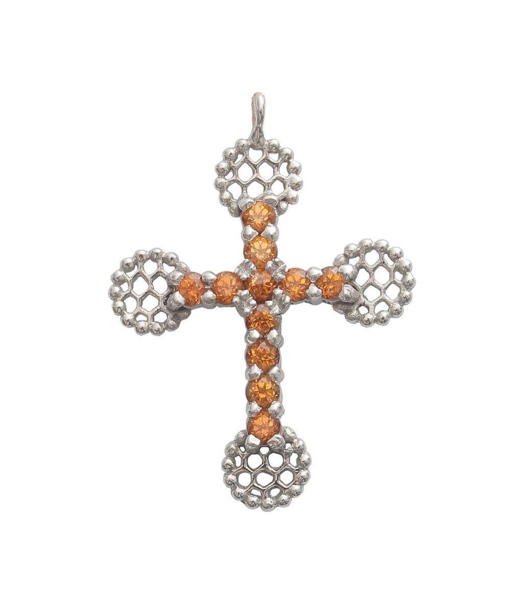 Pendentif Croix Romane - Gigi Clozeau
