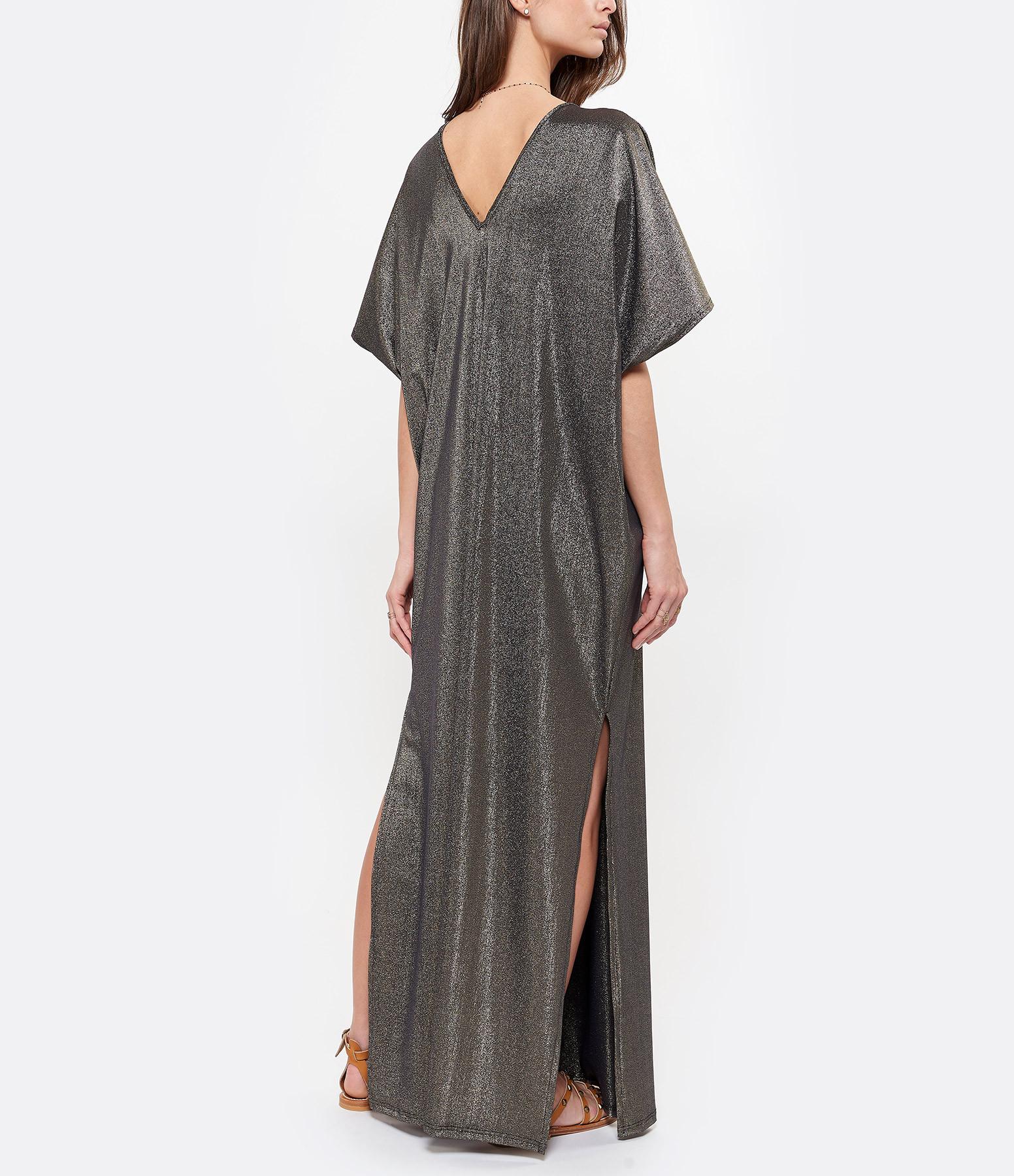 CALARENA - Robe Incontournable Vita Lurex Noir