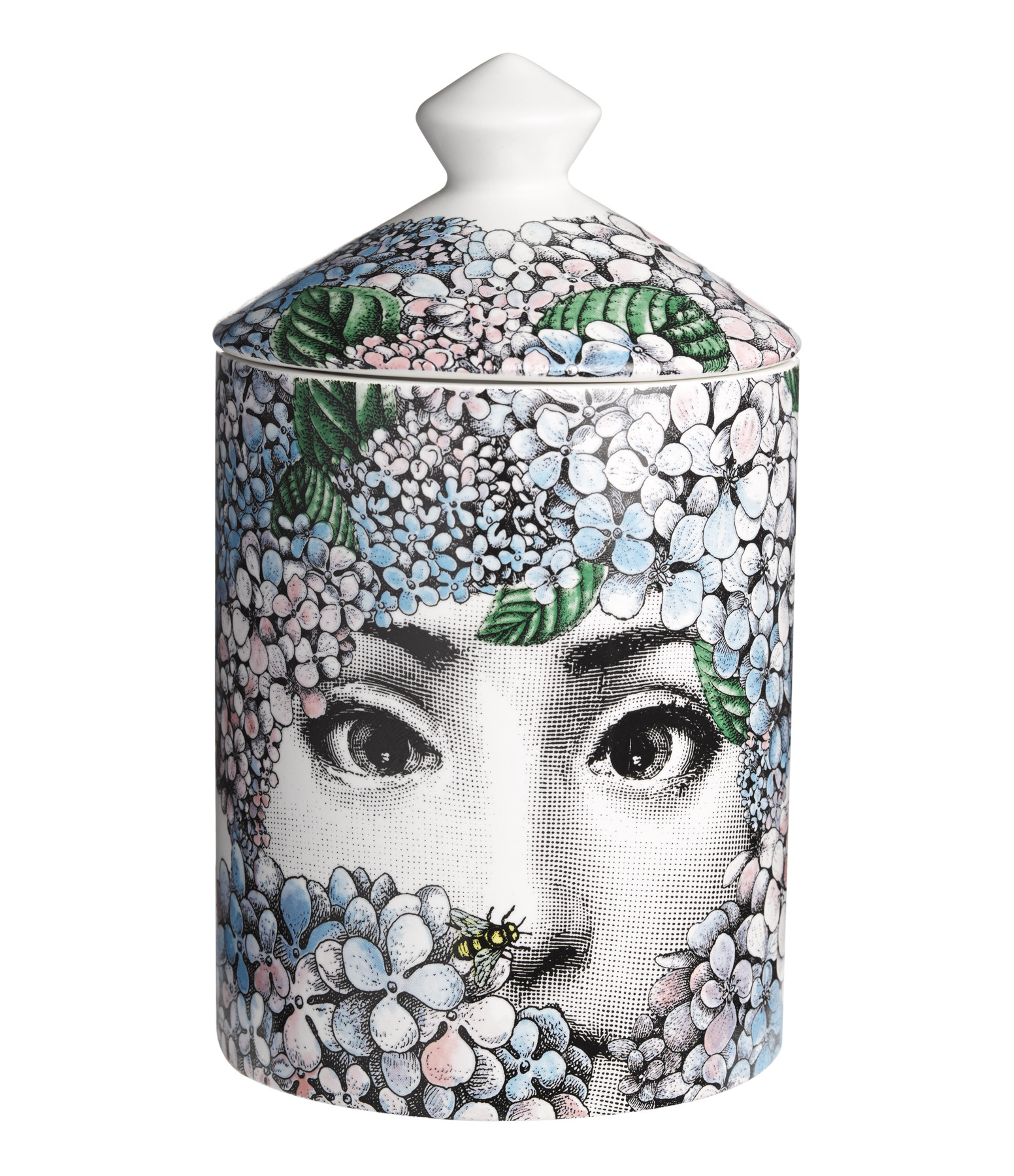 Bougie Parfumée 300g Ortensia - FORNASETTI